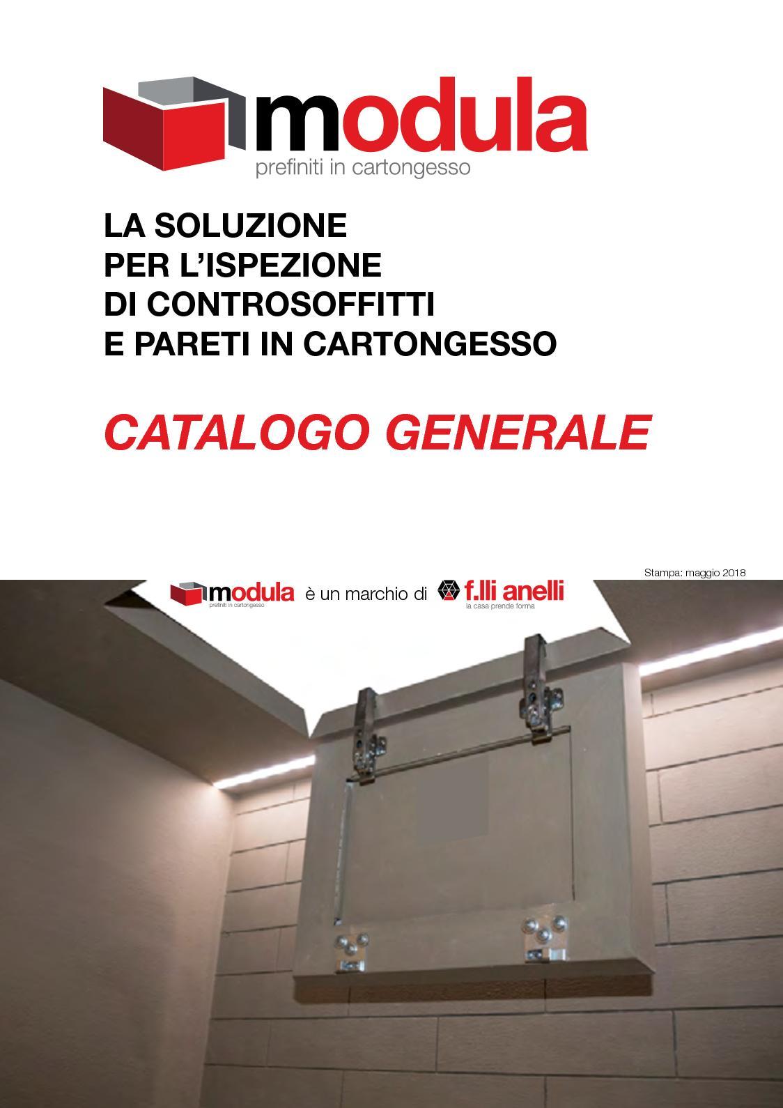 Ante Per Libreria Cartongesso calaméo - catalogo modula 2018 giu18 online