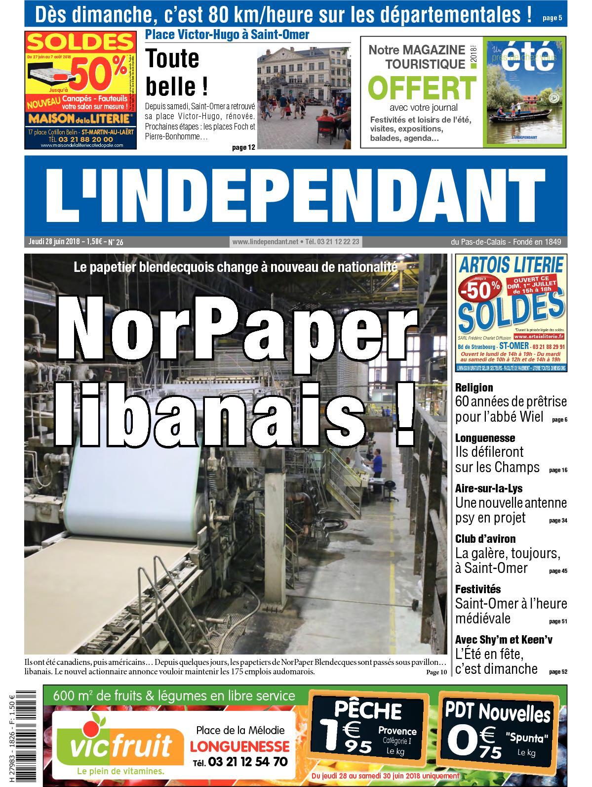 Calaméo - L indépendant Semaine 26 2018 daa2f322d052