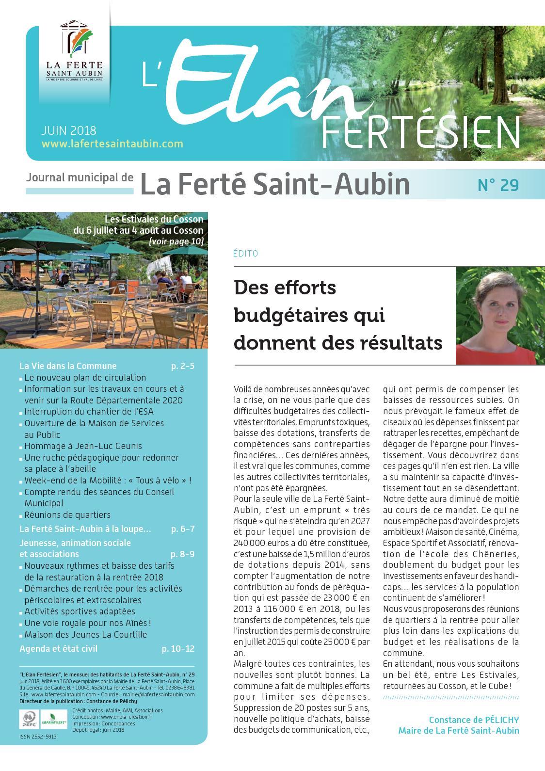 Brocante La Ferte St Aubin calaméo - lelanfertesienjuin2018num29