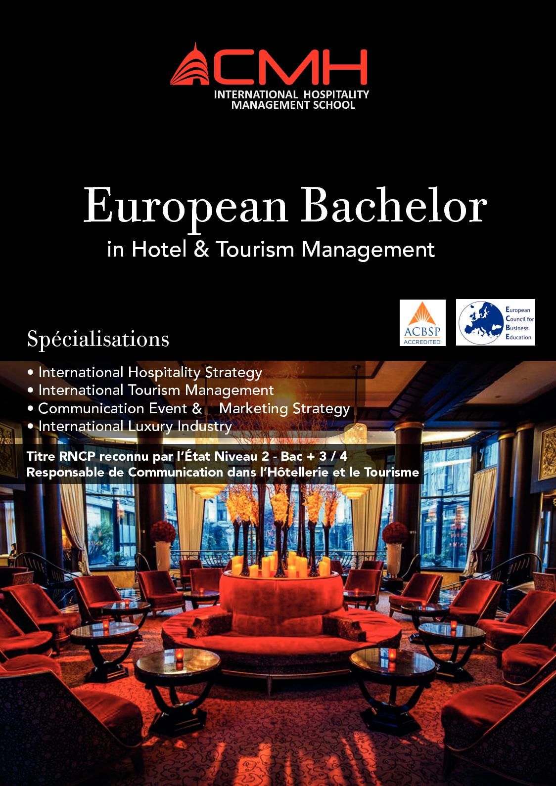 Calameo European Bachelor In Hotel Tourism Management
