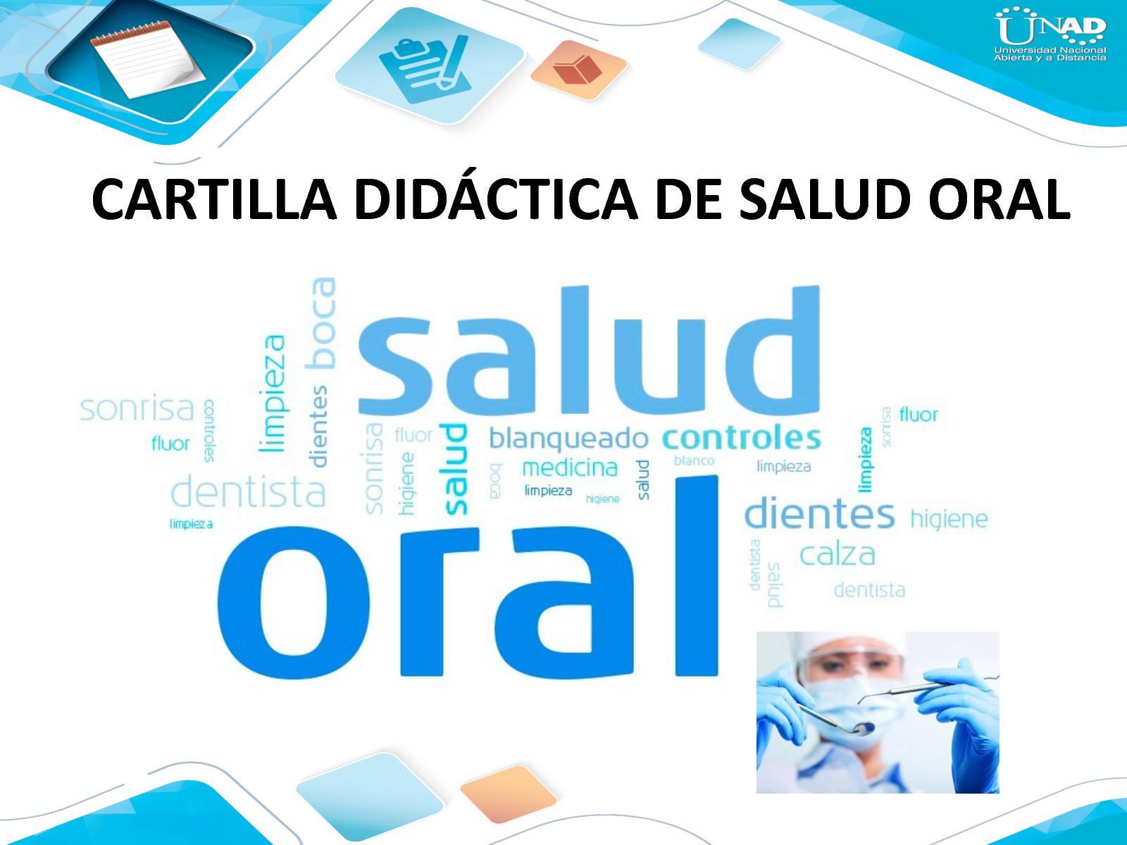 Cartilla Didáctica De Salud Oral
