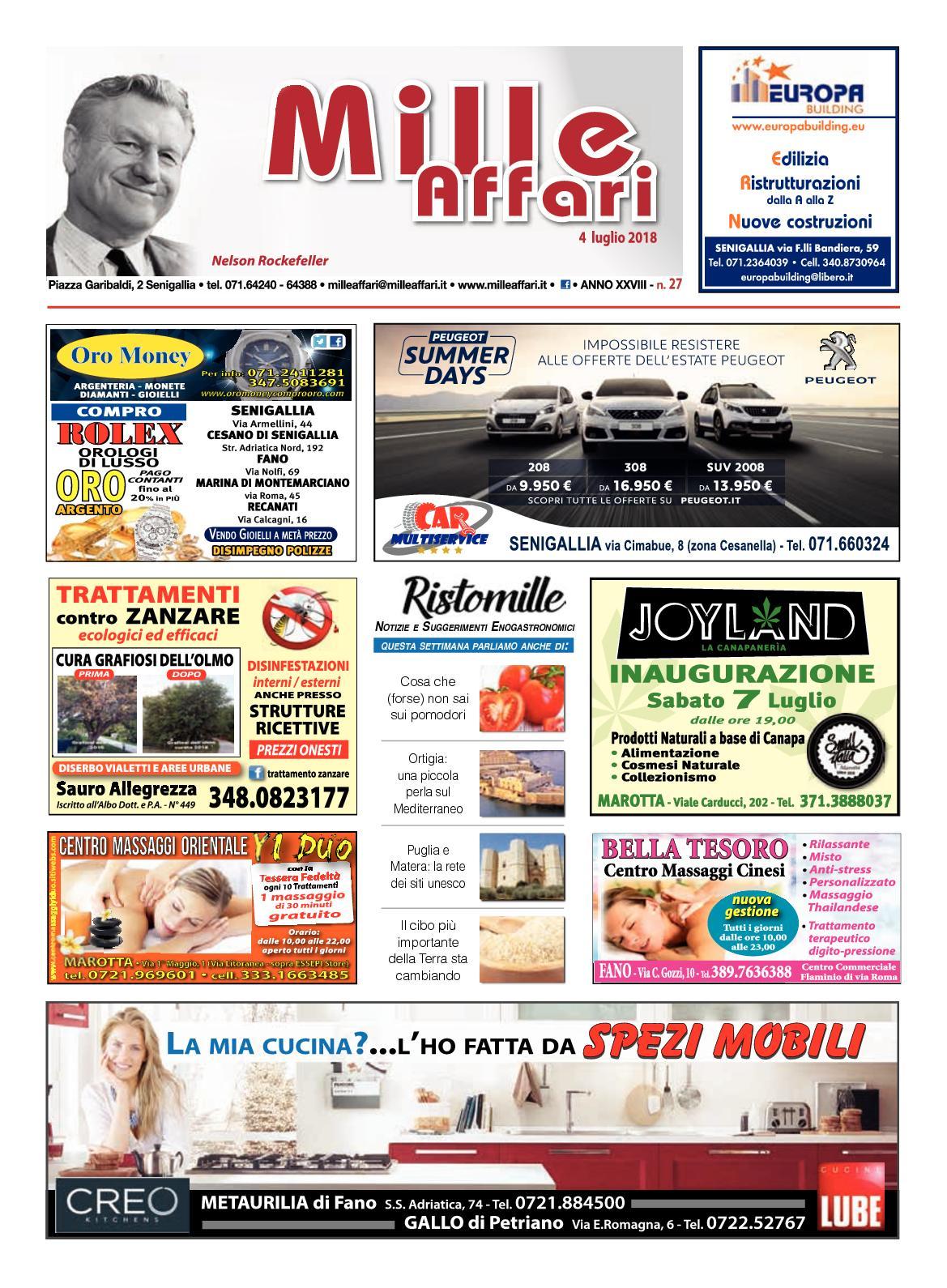 Calaméo - Milleaffari N° 27 del 04.07.18 5cf91a823ac
