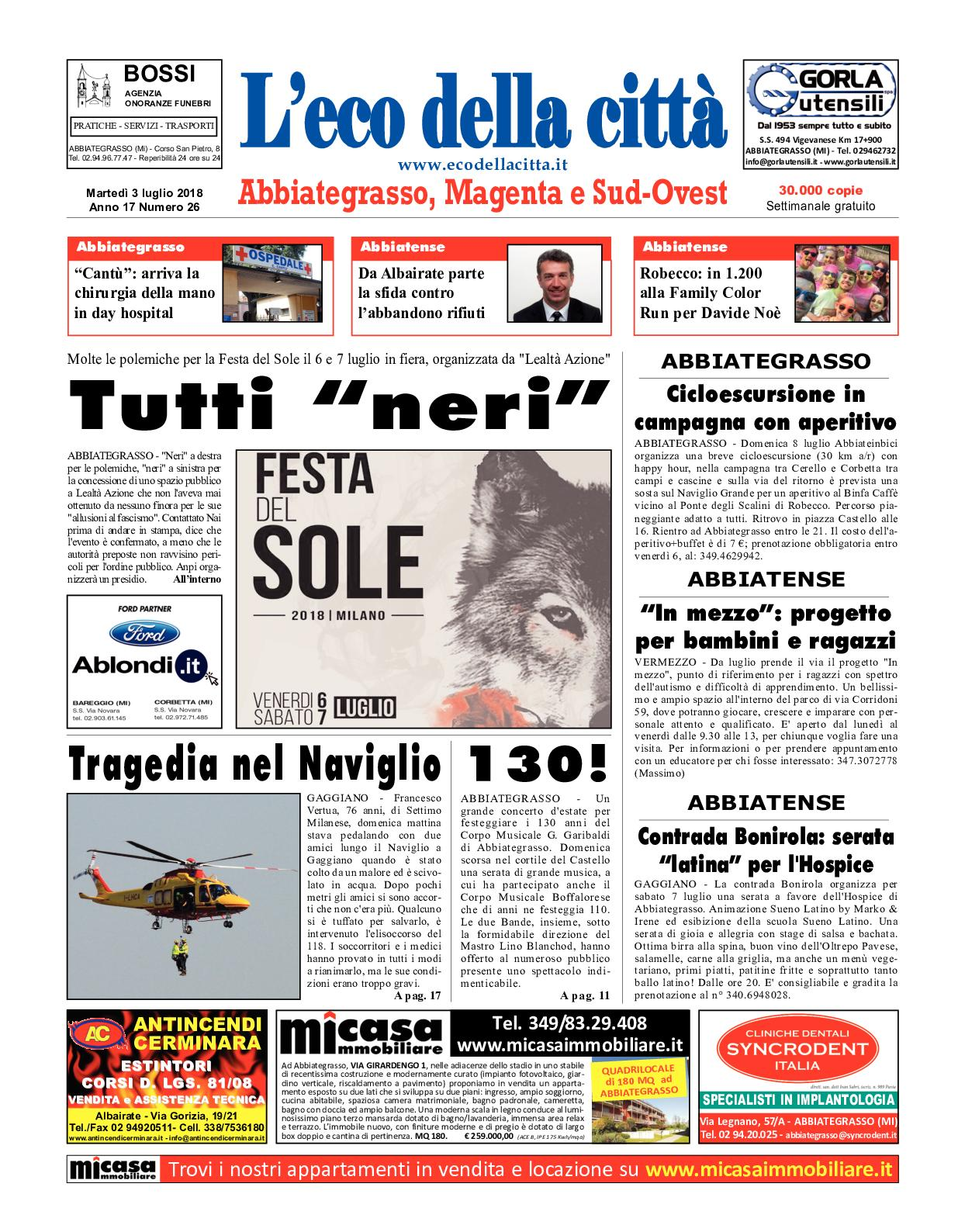 Santambrogio Tende Arquati L Angolo Del Materasso Di Santambrogio Fabrizio.Calameo L Eco Della Citta Del 3 Luglio 2018