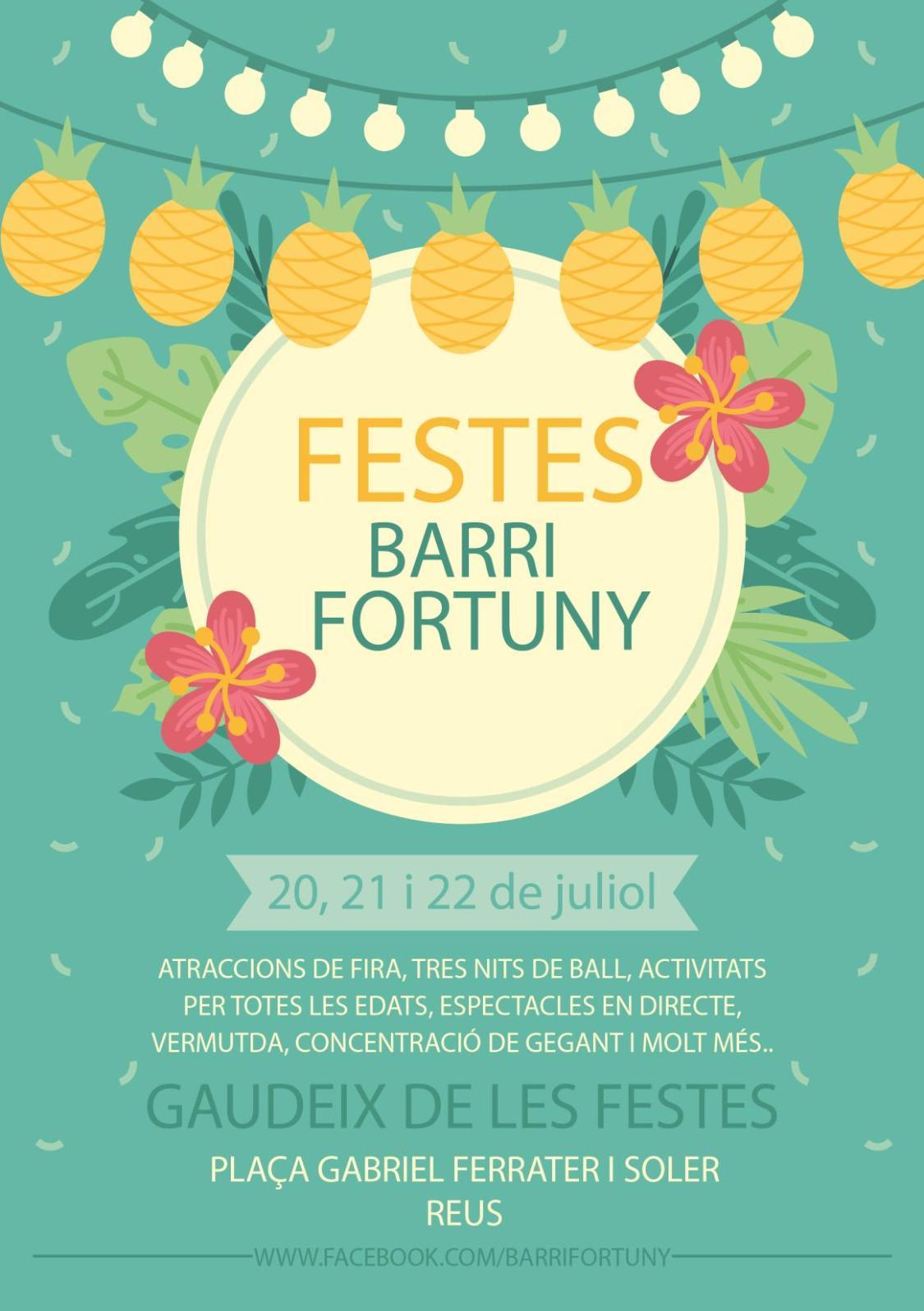 PROGRMA FESTES BARRI FORTUNY 2018