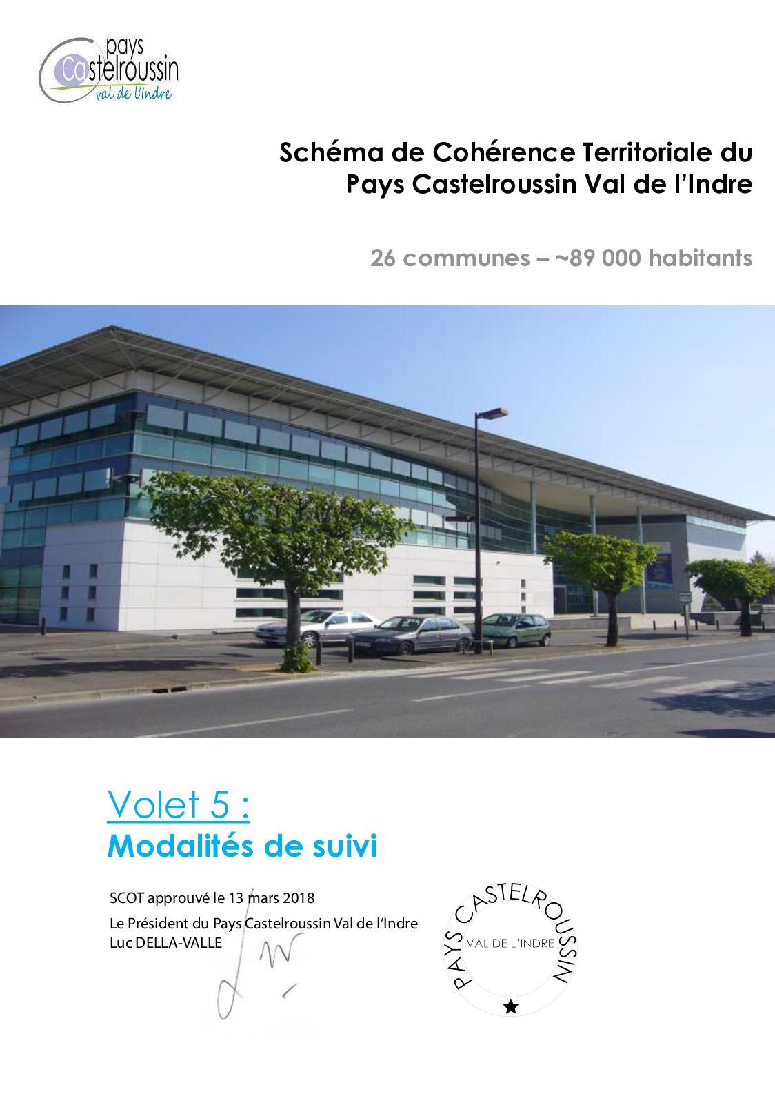 Volet 5 du Scot Castelroussin approuvé
