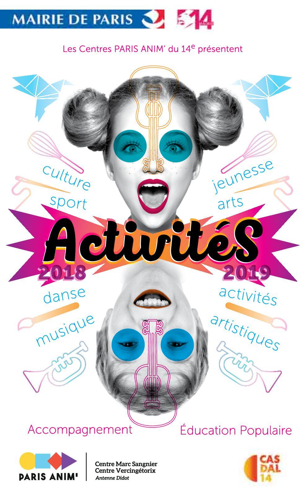 Brochure Activites 2018 2019
