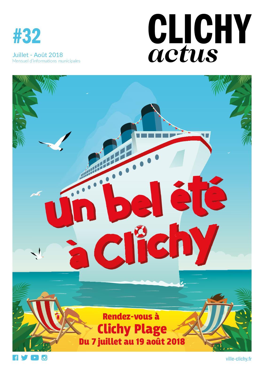 Calaméo - Clichy Actus Juillet-Août 43e4a68cfcec