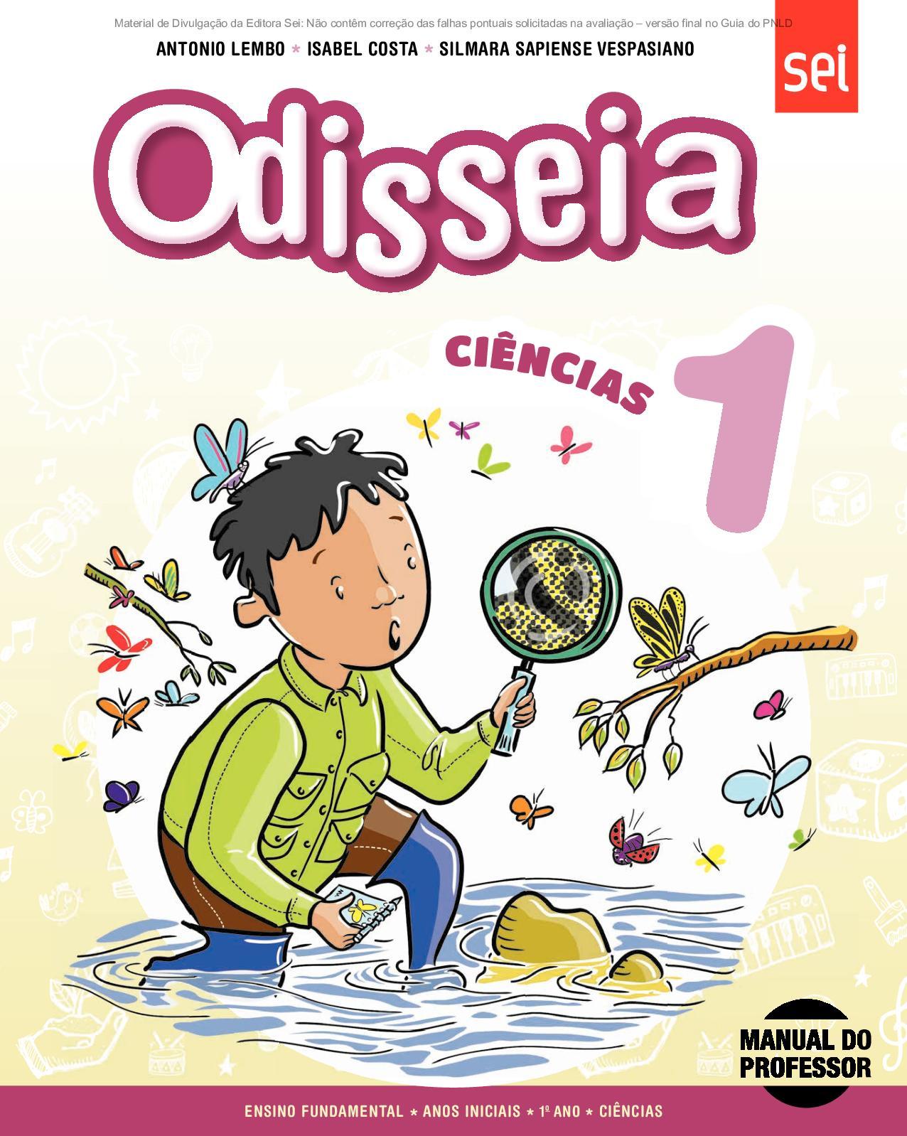 9f54031ee28 Calaméo - Coleção Odisseia - Ciências - Volume 1º ano PROFESSOR