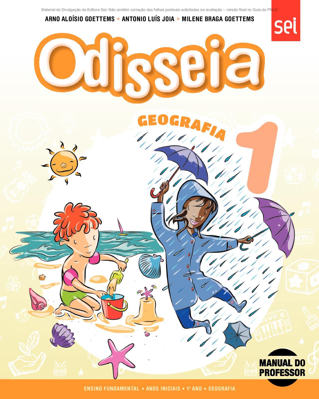 85cfd3f01a Calaméo - Coleção Odisseia - Geografia - Volume 1º ano PROFESSOR
