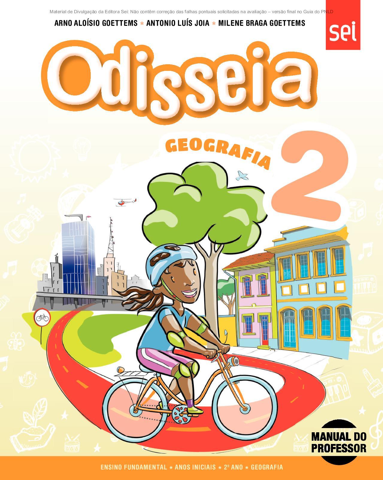 3ca0e29ae1066 Calaméo - Coleção Odisseia - Geografia - Volume 2º ano PROFESSOR