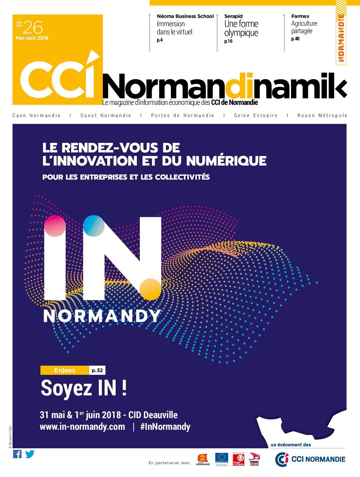 aae3b7295f5d Calaméo - Normandinamik n°26 Mai Juin 2018