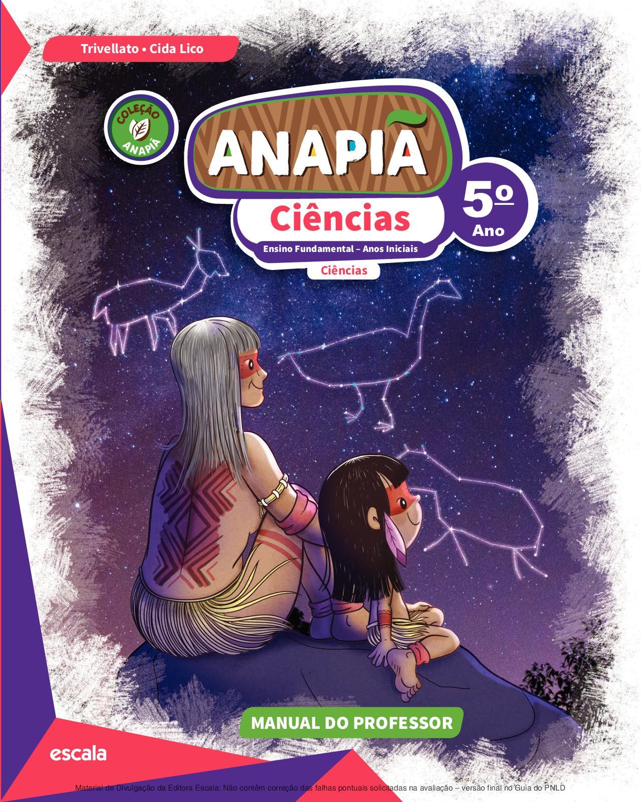 492ad8d6fbb7d Calaméo - Coleção Anapiã - Ciências - Volume 5º ano PROFESSOR