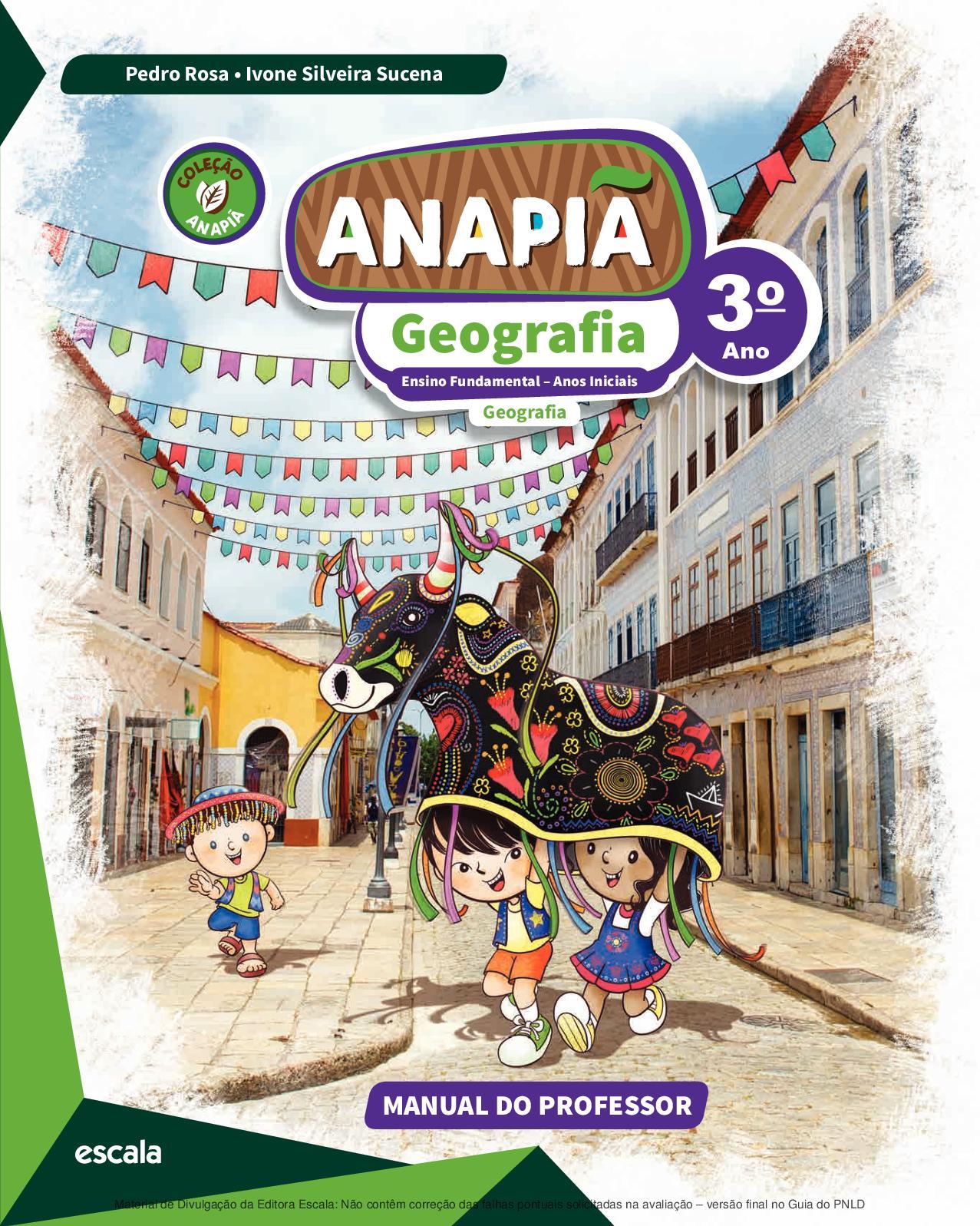 b6b162e69a Calaméo - Coleção Anapiã - Geografia - Volume 3º ano PROFESSOR