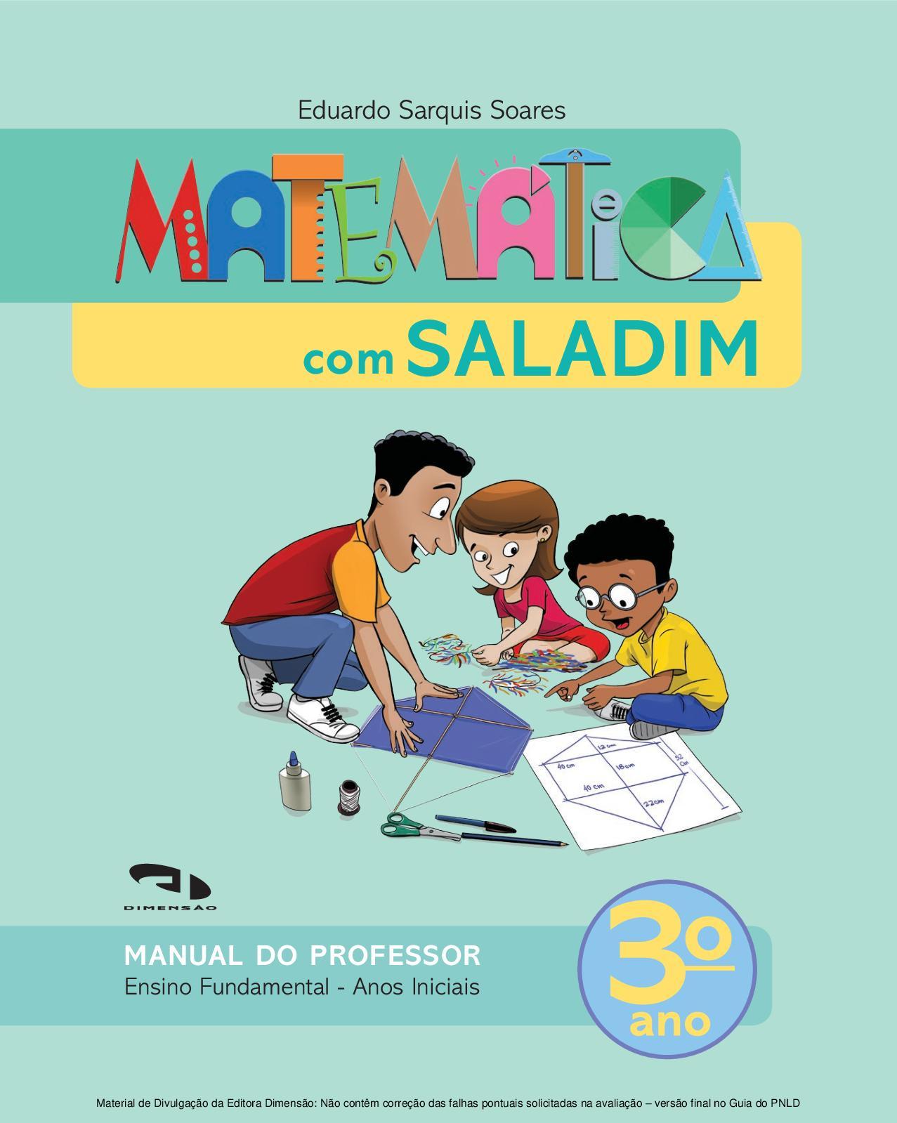 aeed8a9663 Calaméo - Coleção Matemática com Saladim - Volume 3º ano PROFESSOR