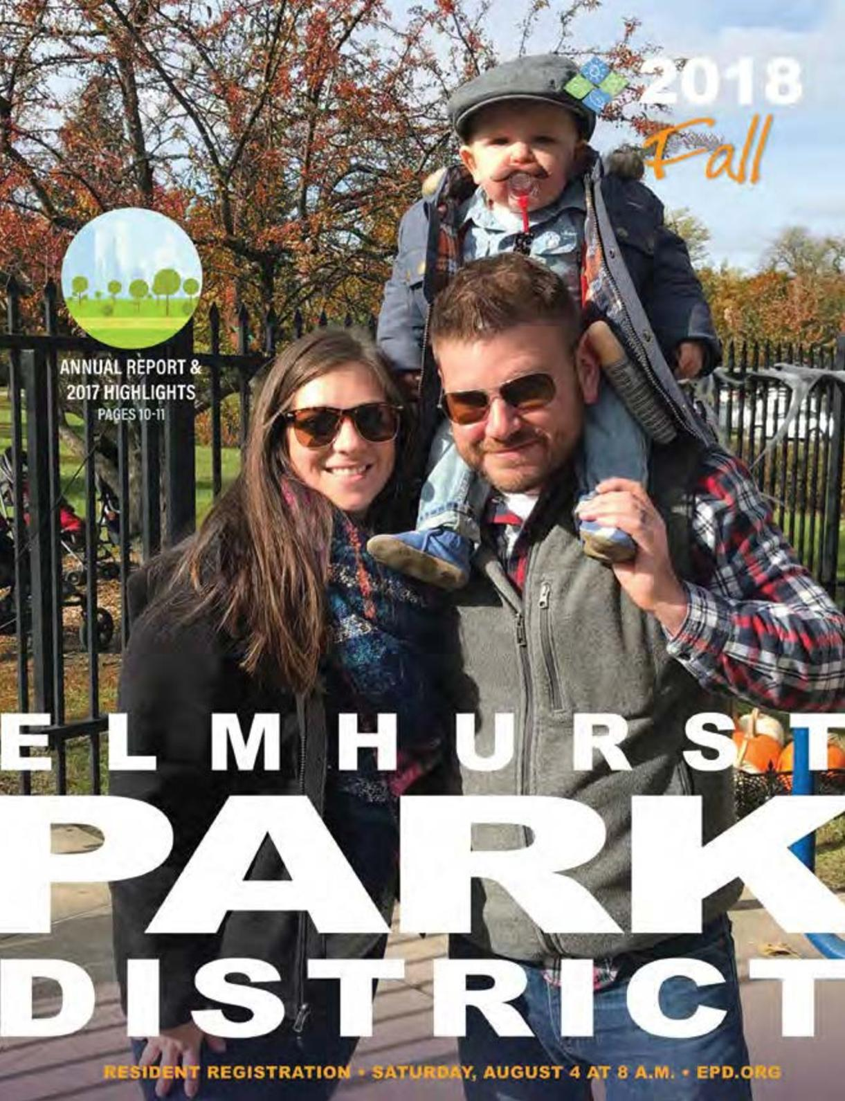 Calaméo - Elmhurst Park District Fall 2018 Brochure