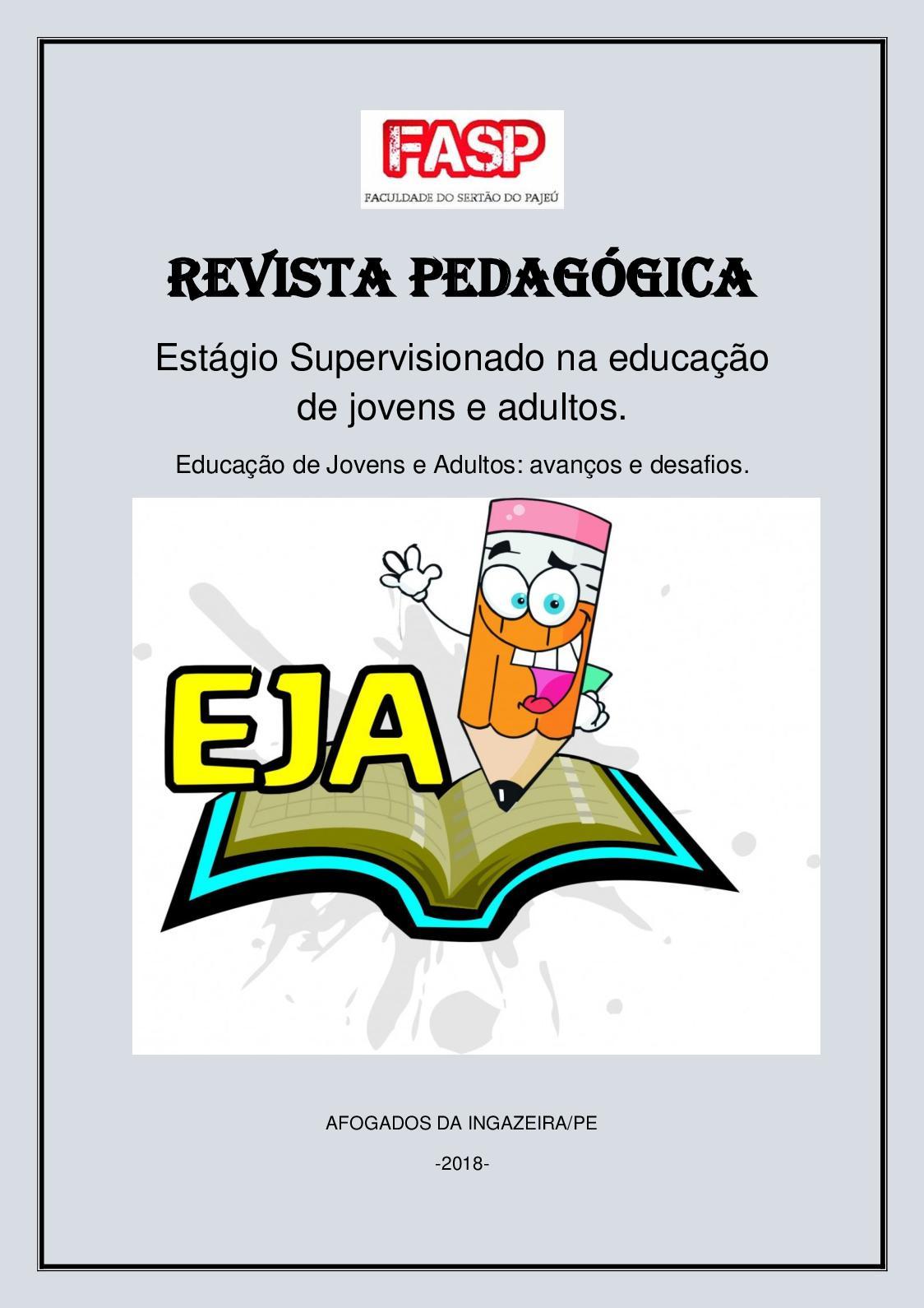 Calaméo Revista Pedagógica Estágio Supervisionado Na