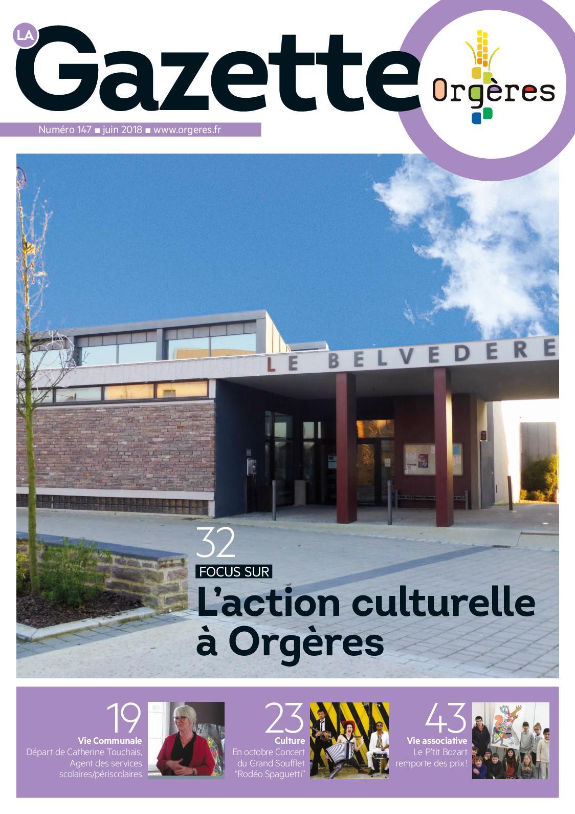 Calaméo Gazette Orgeres Juin 2018