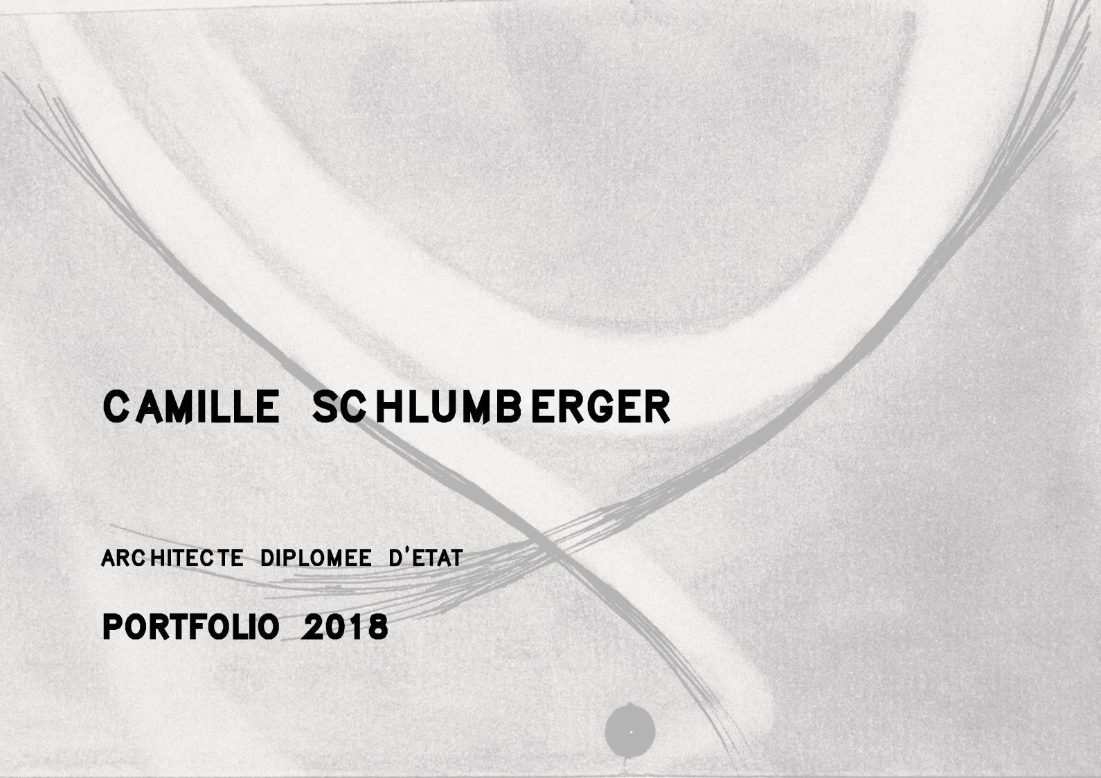 Calaméo Schlumberger Camille Portfolio 2018 English