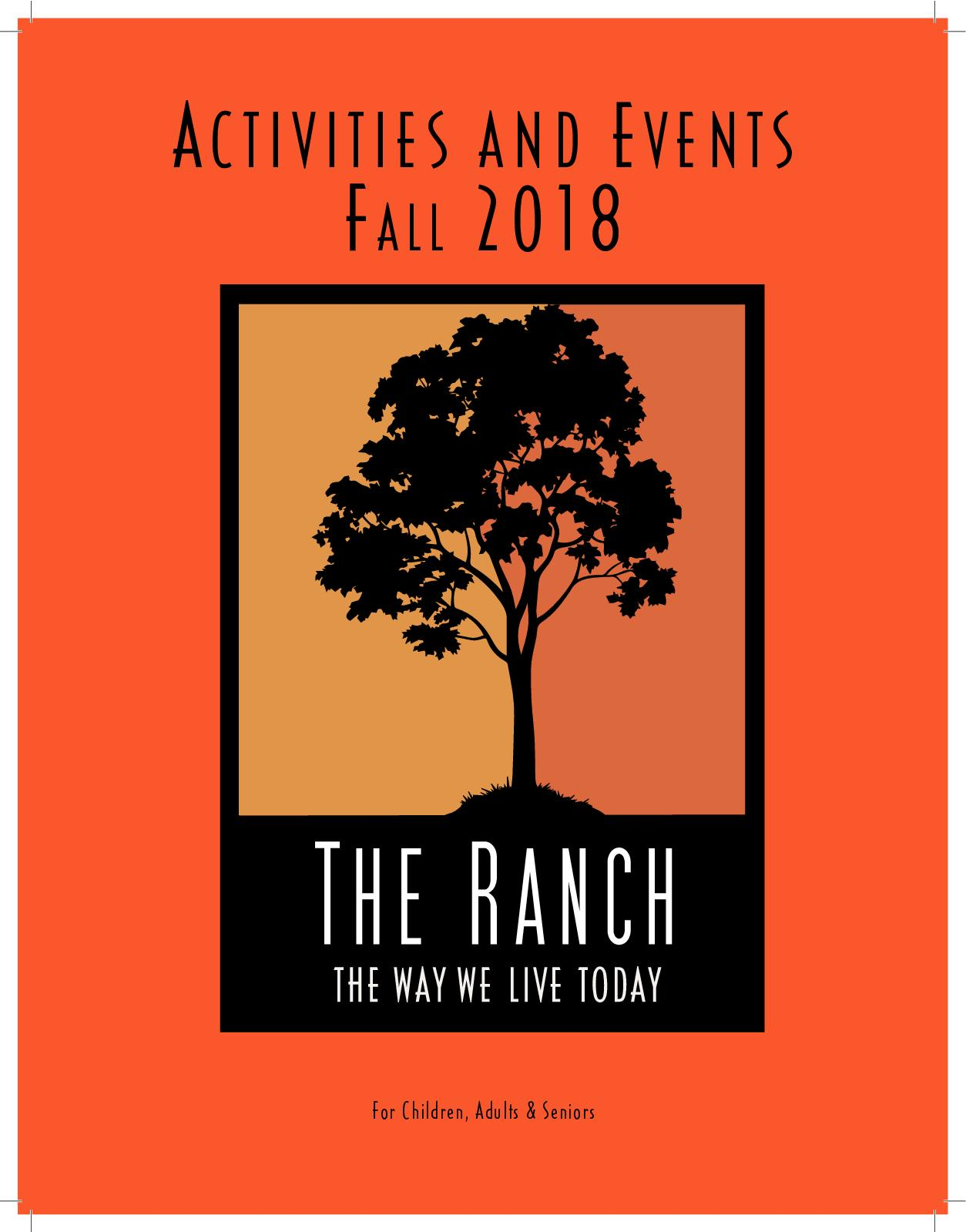 Calaméo - The Ranch Fall 2018 Activity Guide