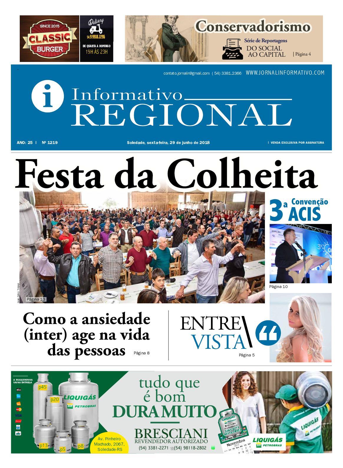 Calaméo - Jornal Informativo Regional 1219 0e3682f9ce