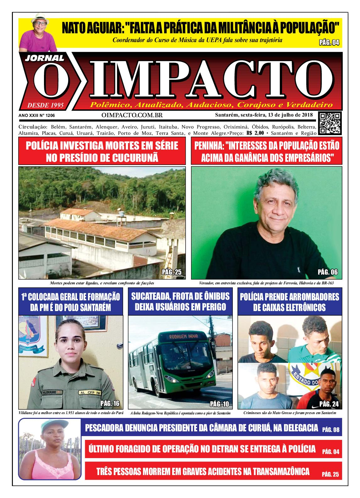 Calaméo - Jornal O Impacto Ed. 1206 2a785df8ac29b