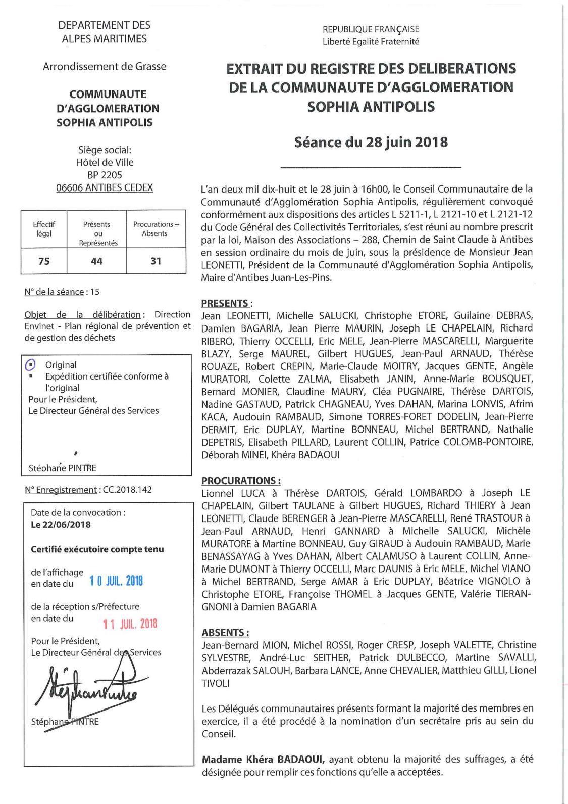 Calaméo - CC 2018 142 DEN - Plan Régional De Prévention Et De Gestion Des  Déchets 788a0b5114b