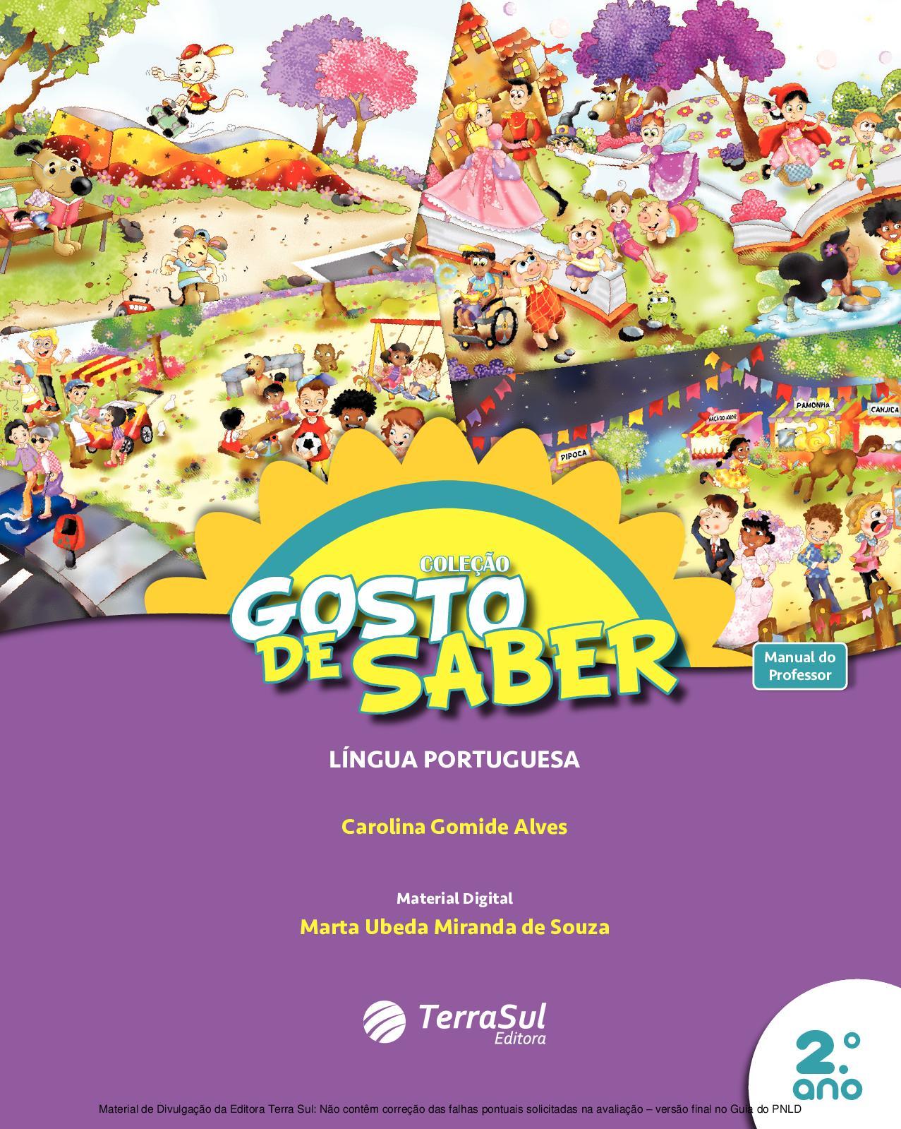 Calaméo - Coleção Gosto de Saber - Língua Portuguesa - Volume 2º ano  PROFESSOR c2781bcc32b73
