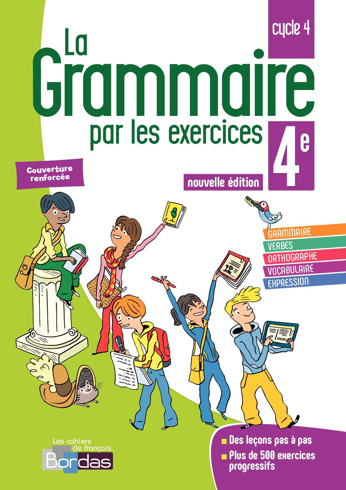 Calameo Grammaire Par Les Exercices 4e