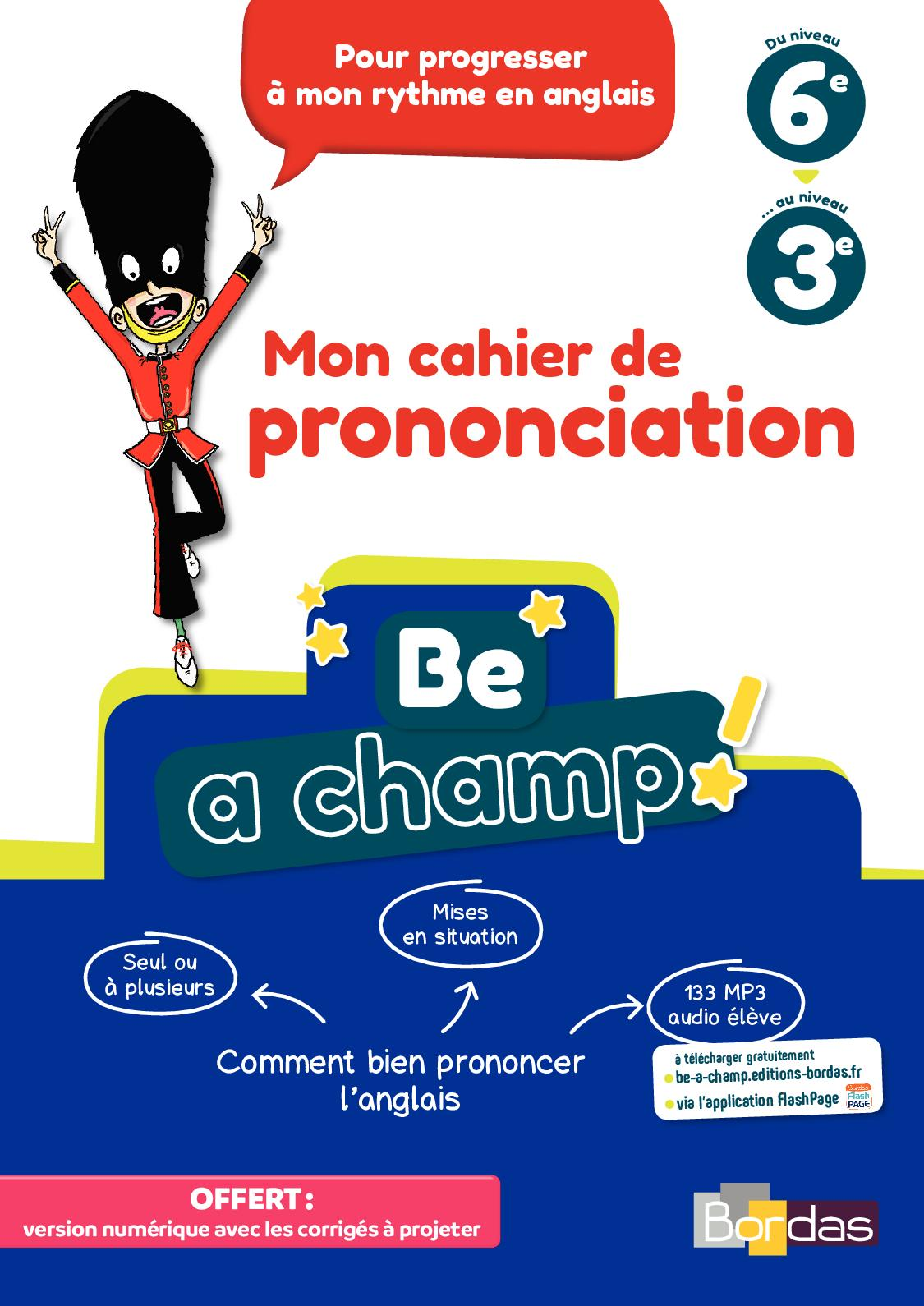 Calaméo Be A Champ Prononciation