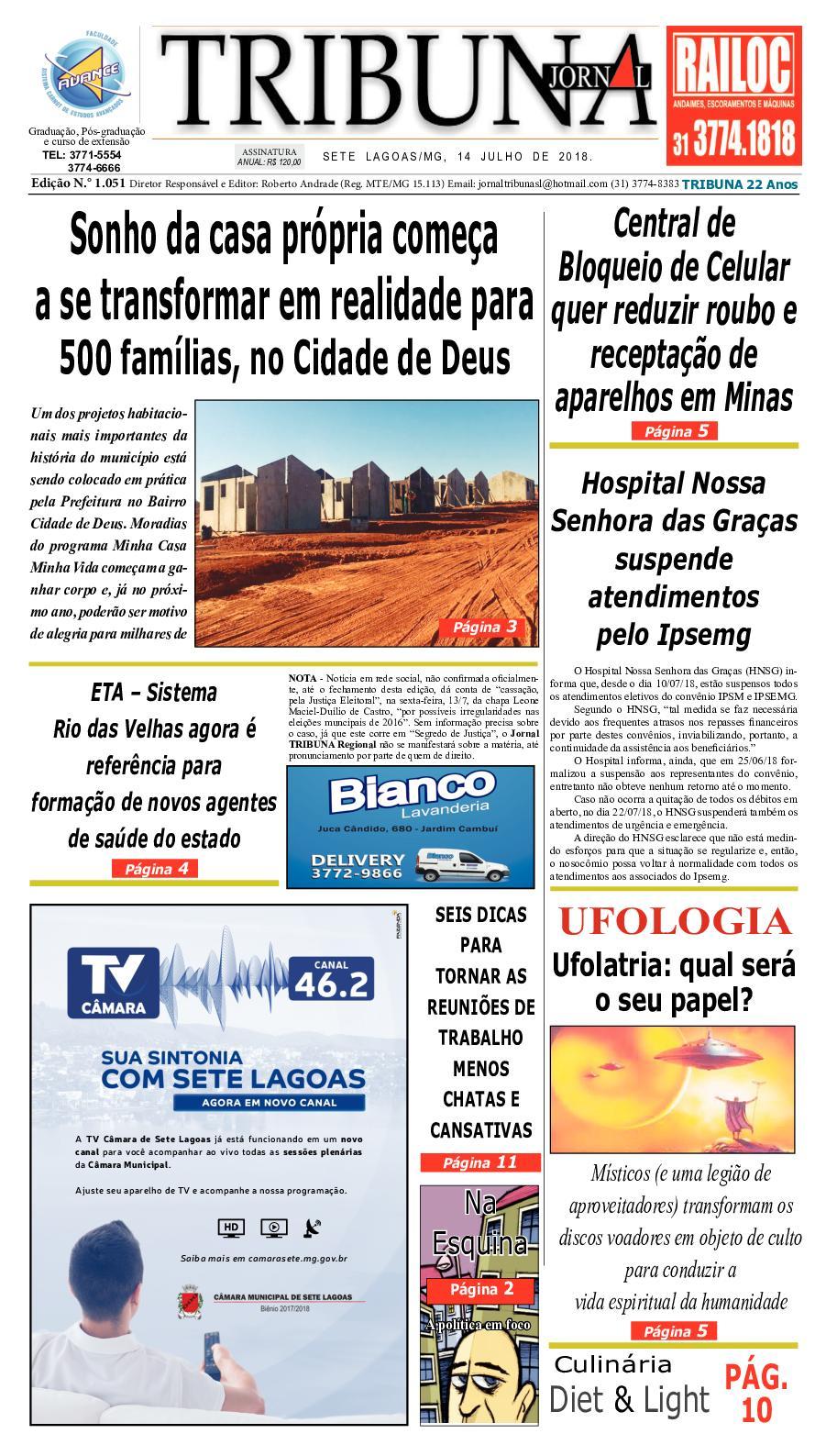 e4b49da6ba Calaméo - Jornal 1051