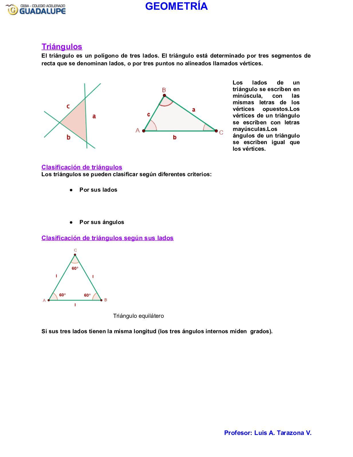 Calaméo Triangulos Luis Tarazona 1