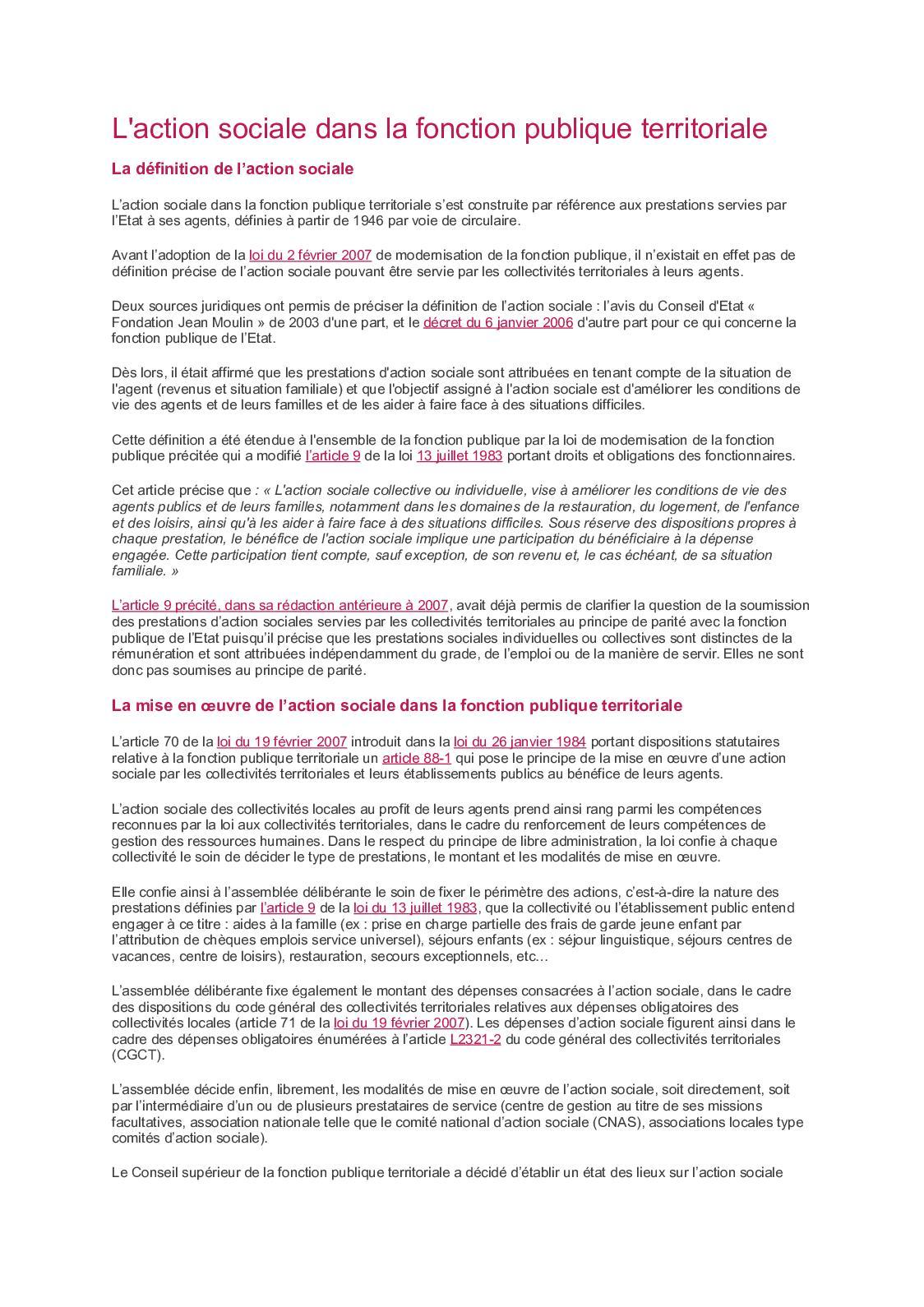 c0d5428a7f7 Calaméo - L action Sociale Dans La Fonction Publique Territoriale