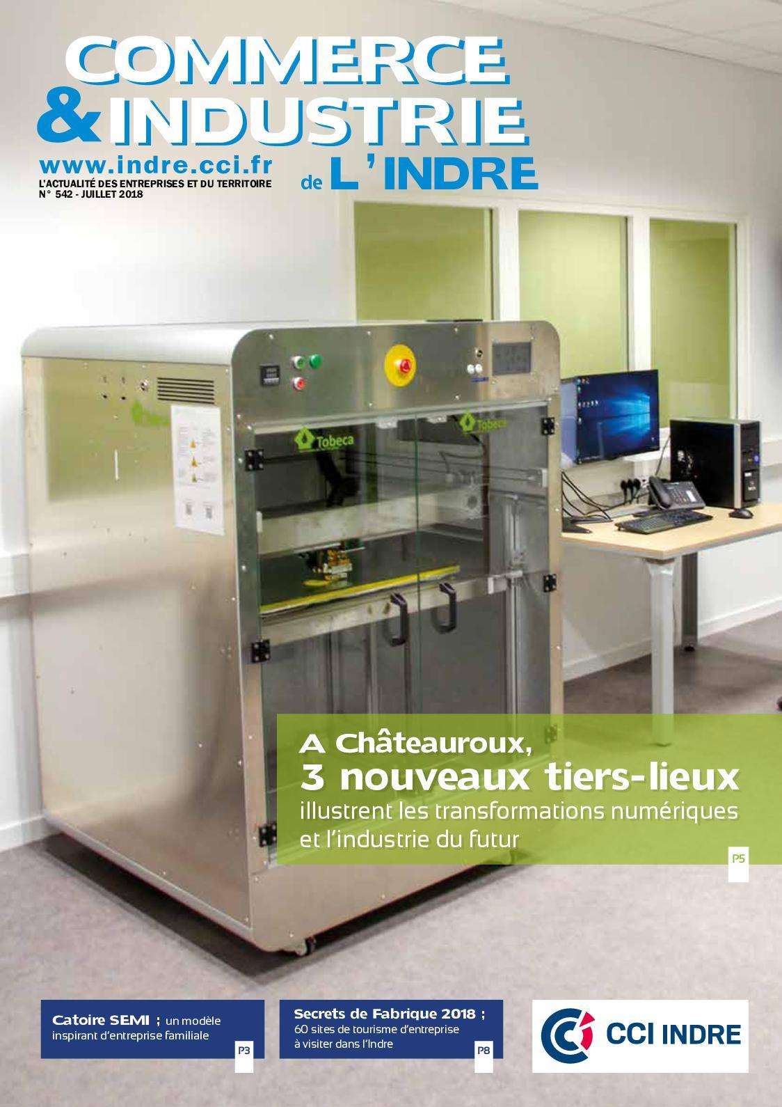 De Commerceamp; L'indre Industrie Calaméo N°542 T13ulcKFJ