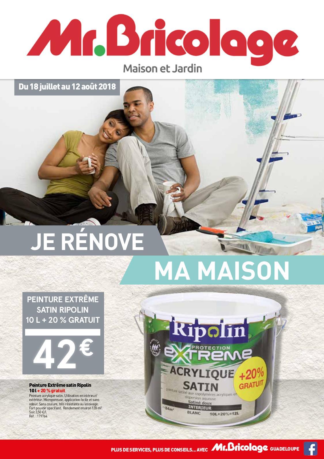 Calaméo Je Rénove Ma Maison Avec Mrbricolage Guadeloupe