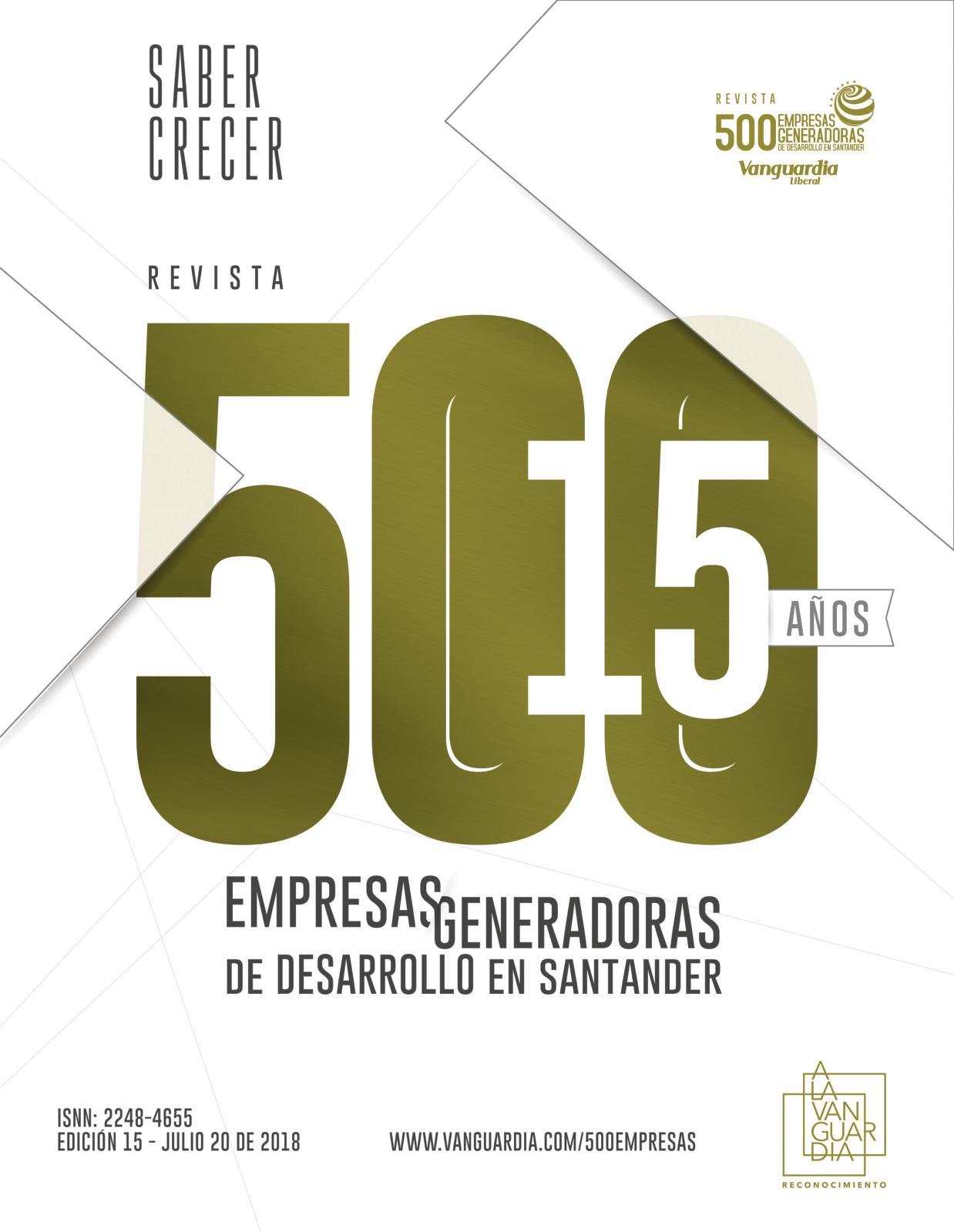 Calaméo - 500 empresas generadoras de desarrollo en Santander - 2018 298585c7d4633