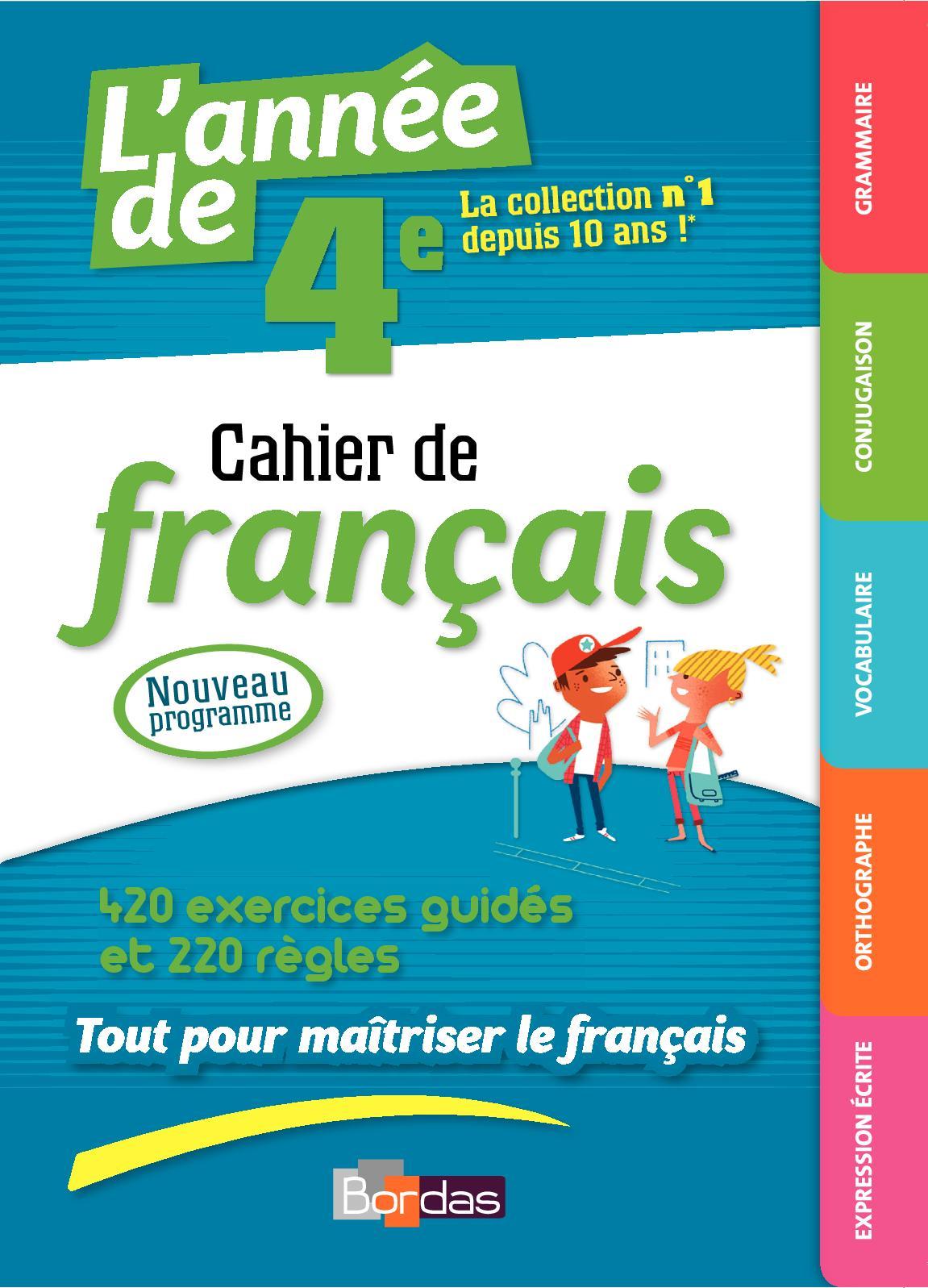 Calameo Cahier De Francais 4eme