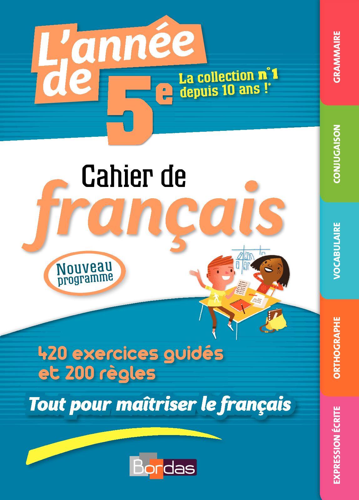 Calameo Cahier De Francais 5eme