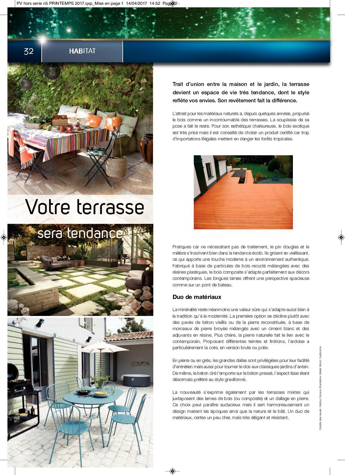 Dalle De Jardin Pas Cher hors serie n5 printemps/Été 2017 - calameo downloader