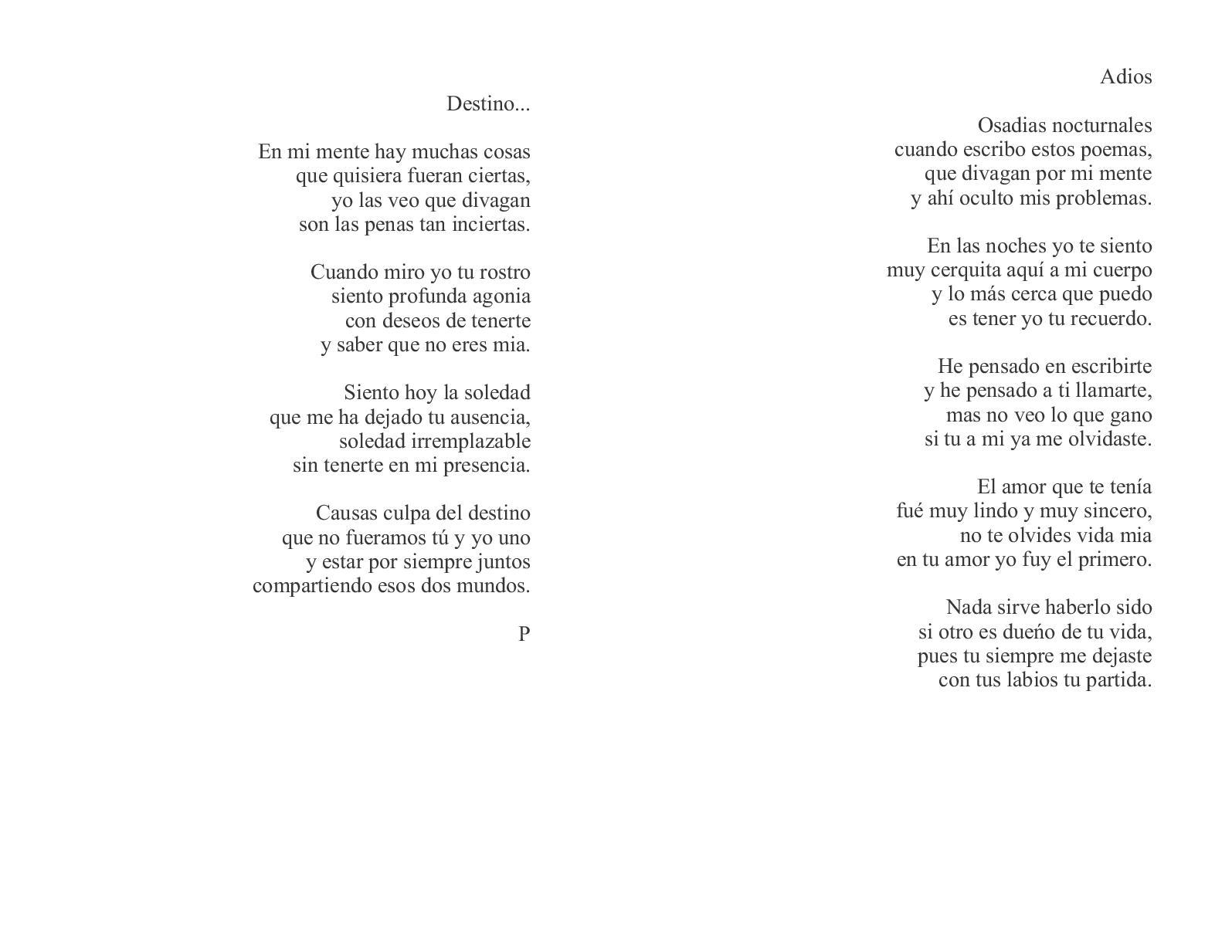 Calaméo Poemas Nada Mas