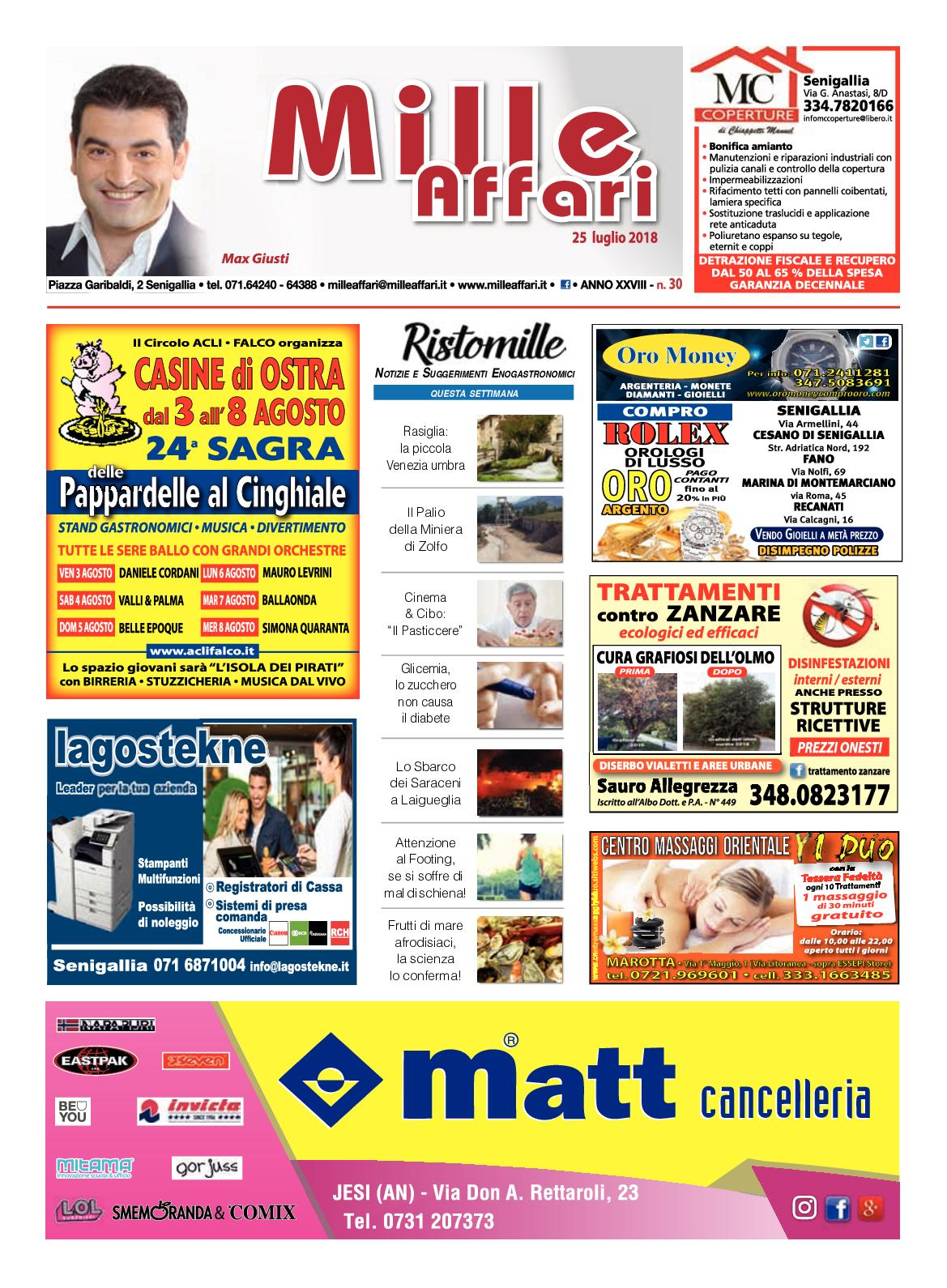 Calaméo - Milleaffari N° 30 del 25.07.18 f3f0eedae19
