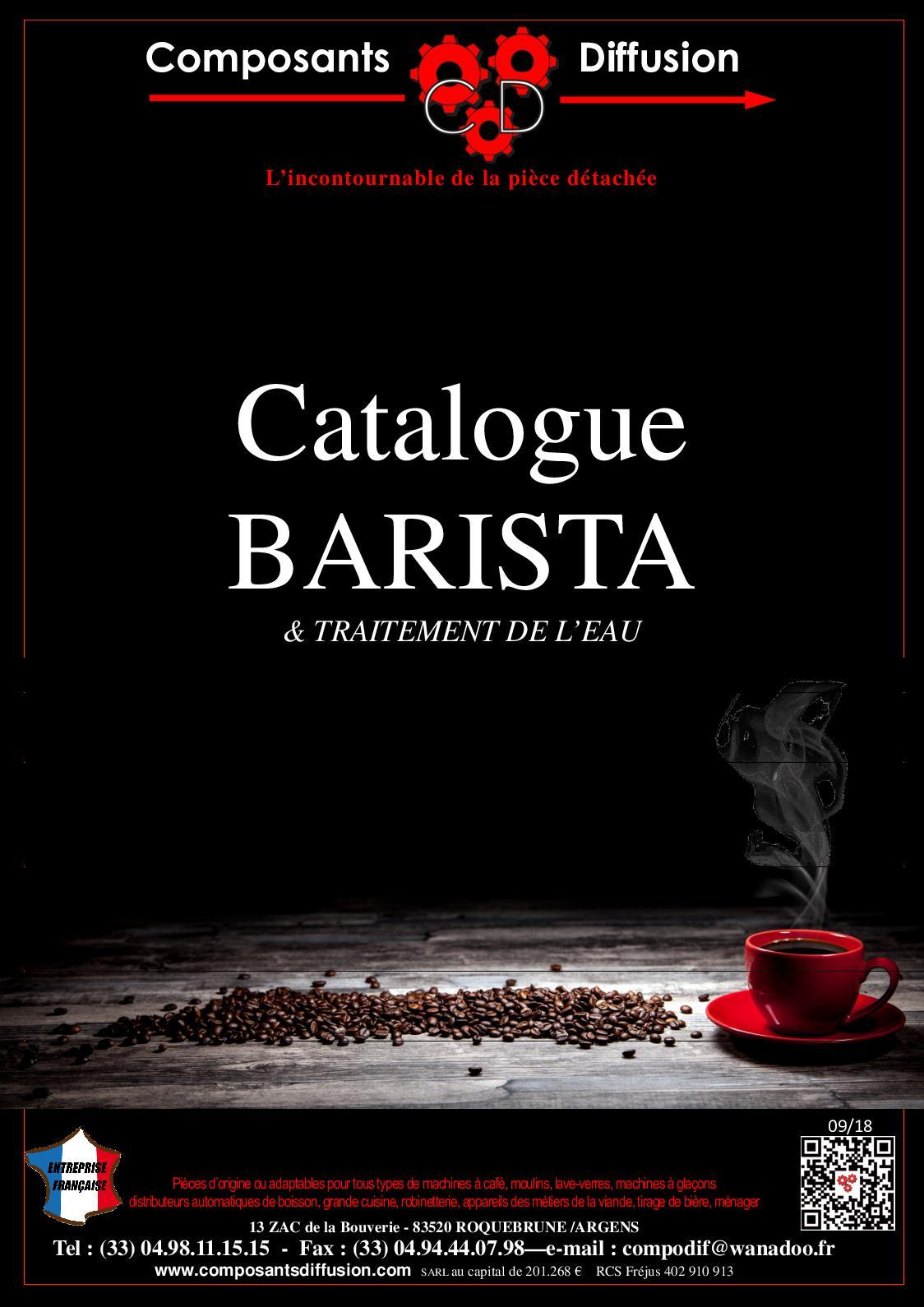 Calaméo Catalogue Barista Et Traitement Deau