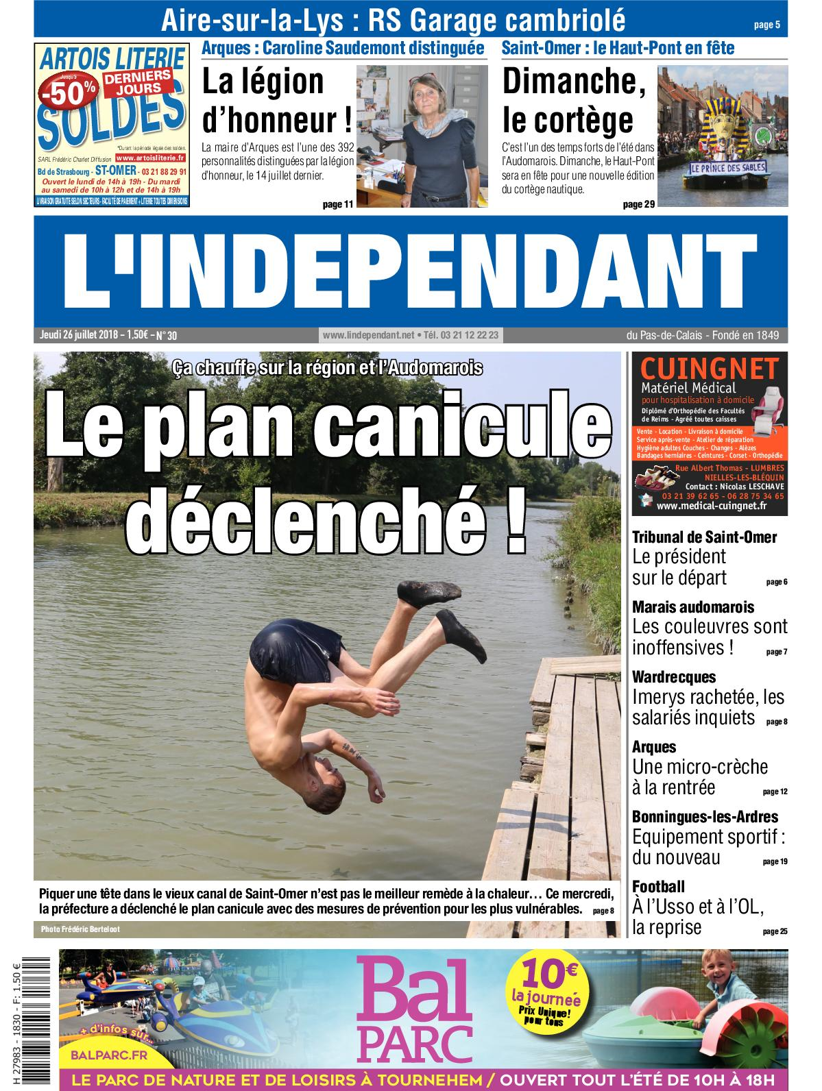 Calaméo Juillet 2018 Du 26 Indépendant wOZNnkX08P