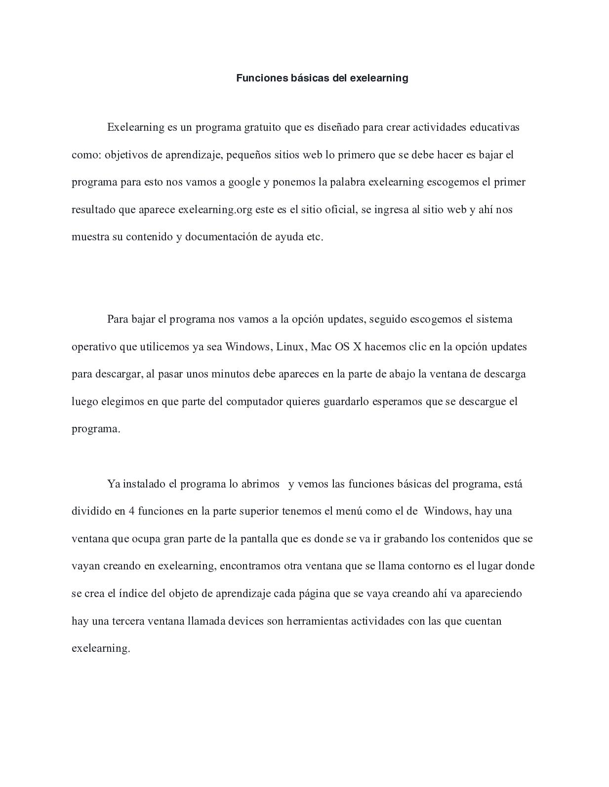 Calaméo - Funciones Básicas Del Exelearning