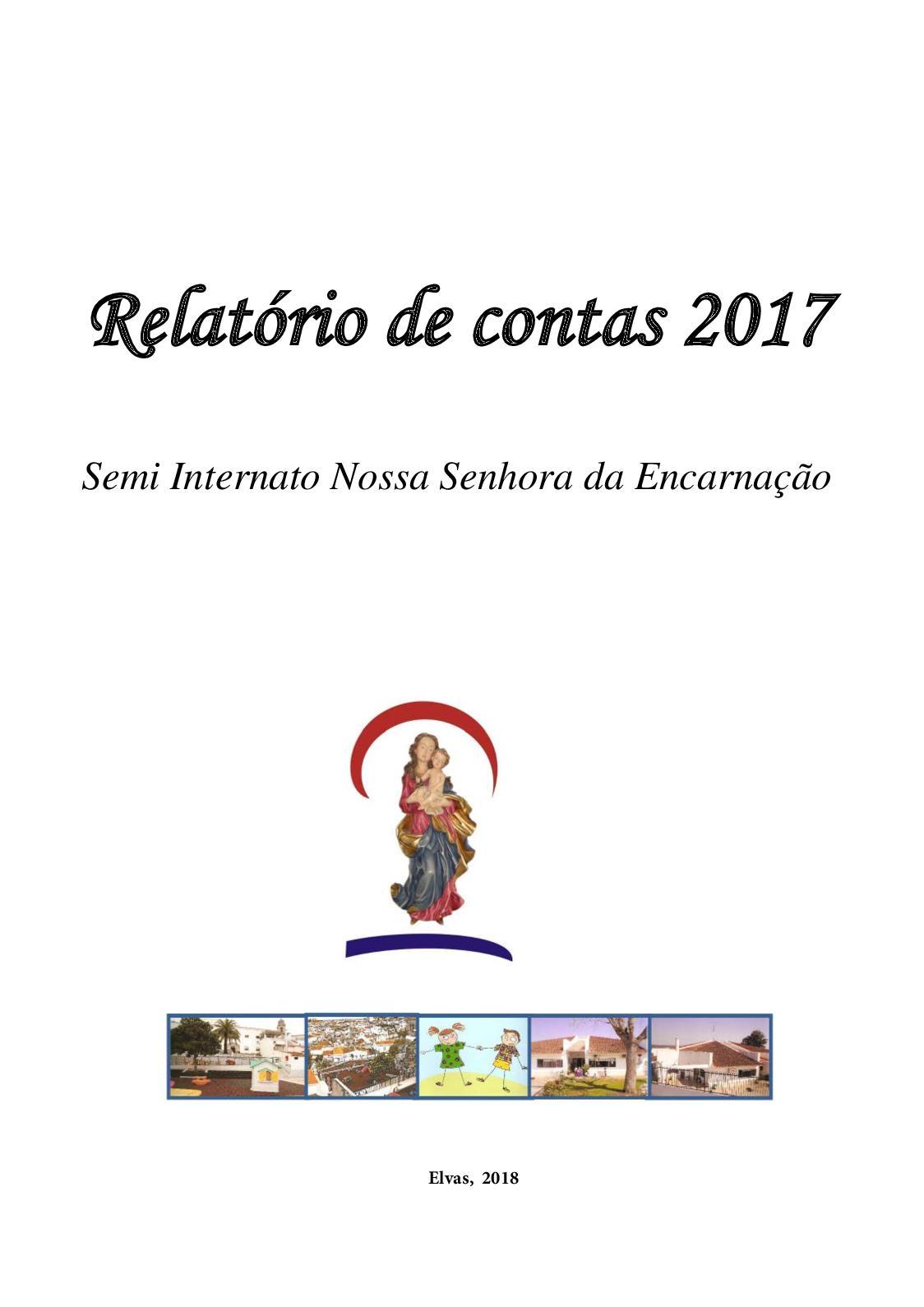 Relatorio De Contas Sinse 2017