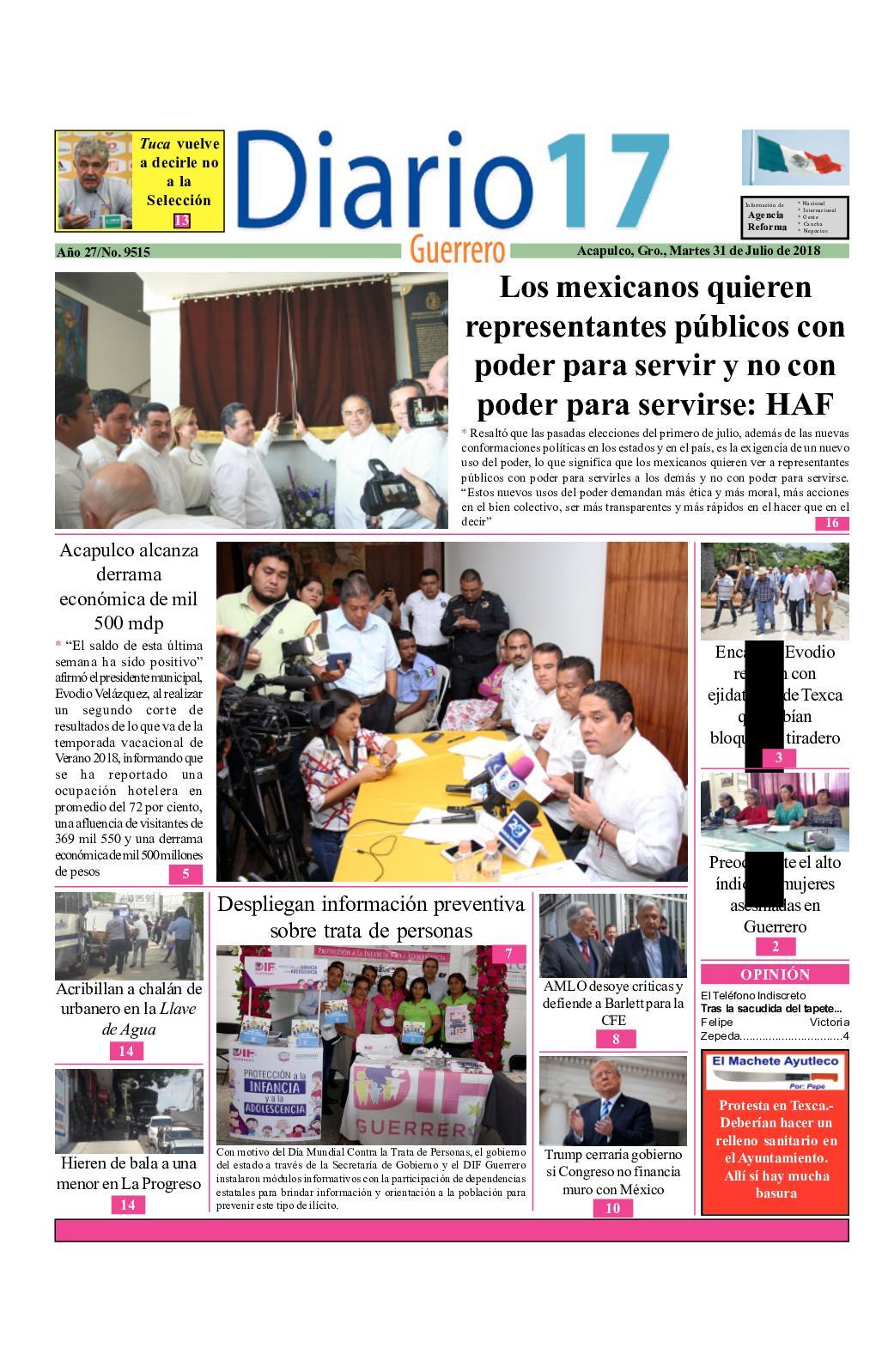 Calaméo Diario 17 Guerrero