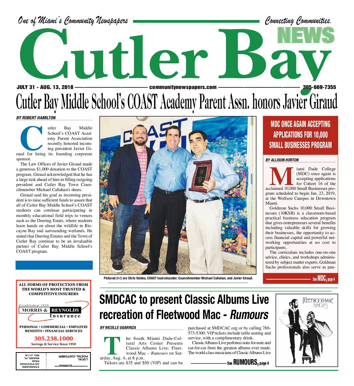 Calaméo Cutler Bay 7 31 2018