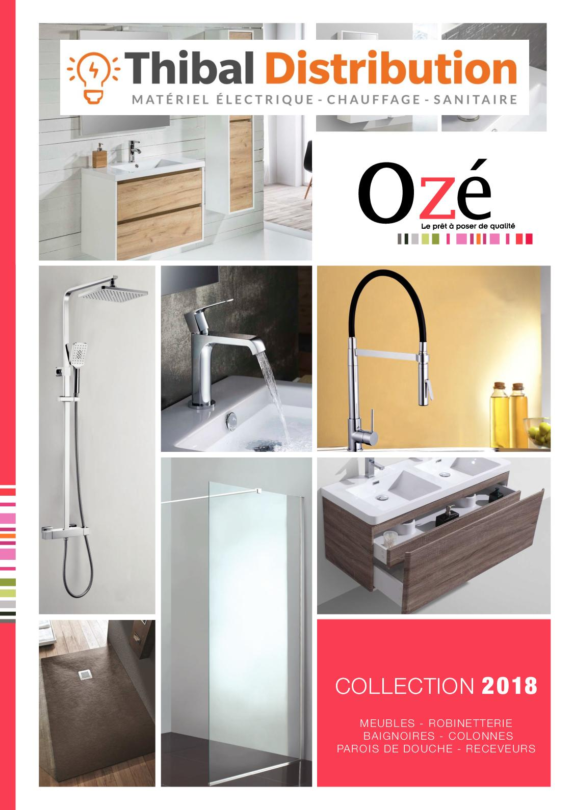Calaméo - Catlogue Salle de bains - Oze 2018 By Thibal 7c409cb3bf84