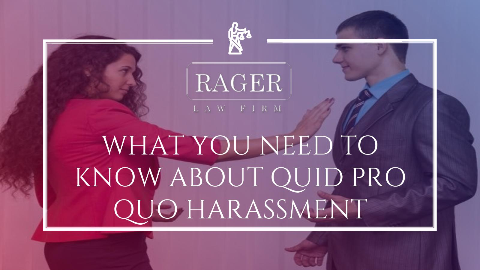 Calaméo - What You Need To Know About Quid Pro Quo Harassment