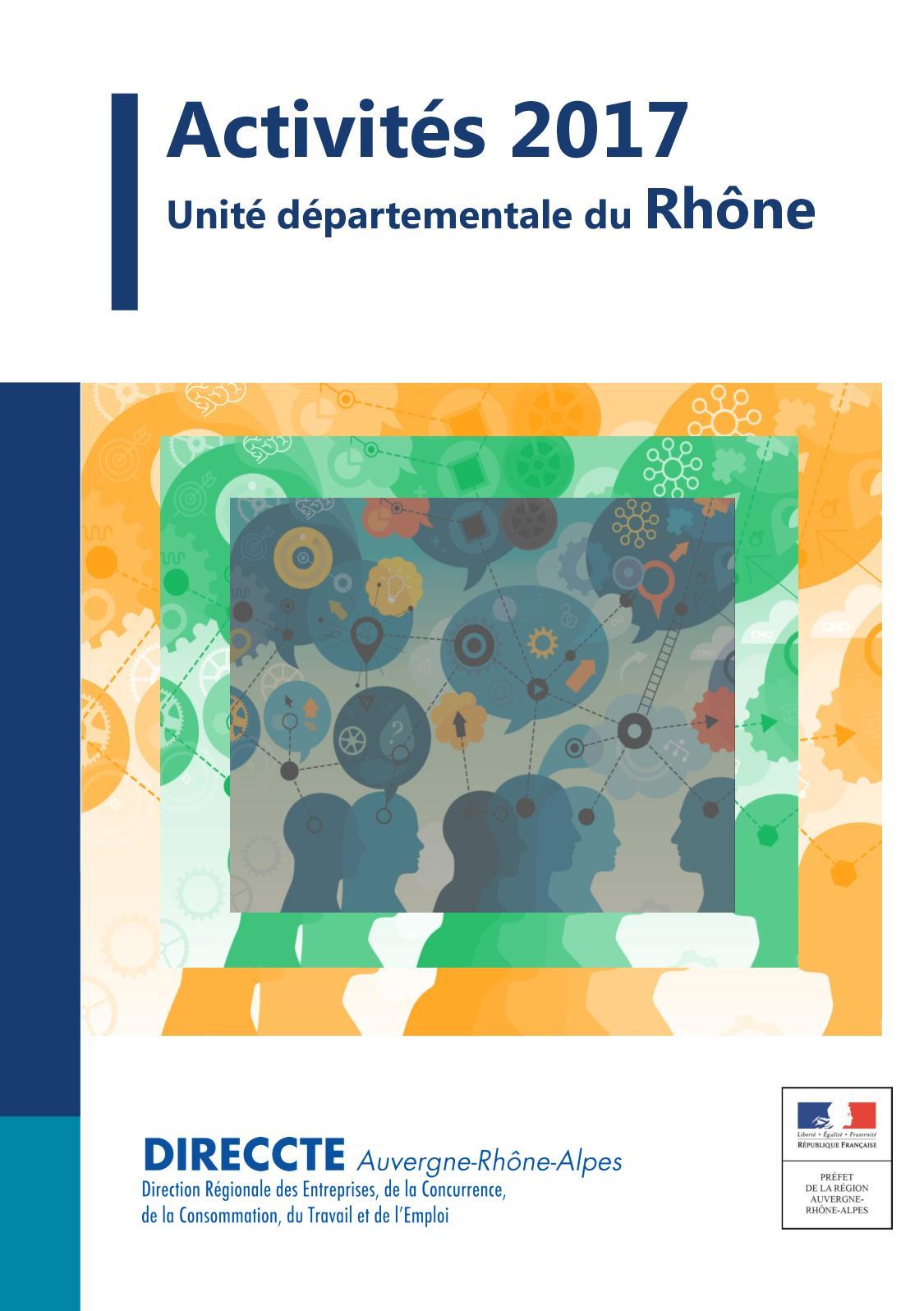 Calameo Rapport D Activite Unite Departementale Rhone De La Direccte