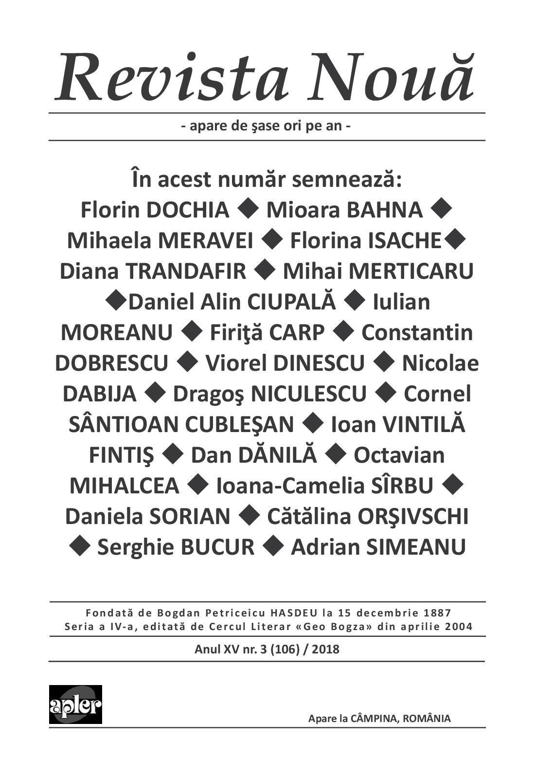 Calaméo Revista Noua 3 2018